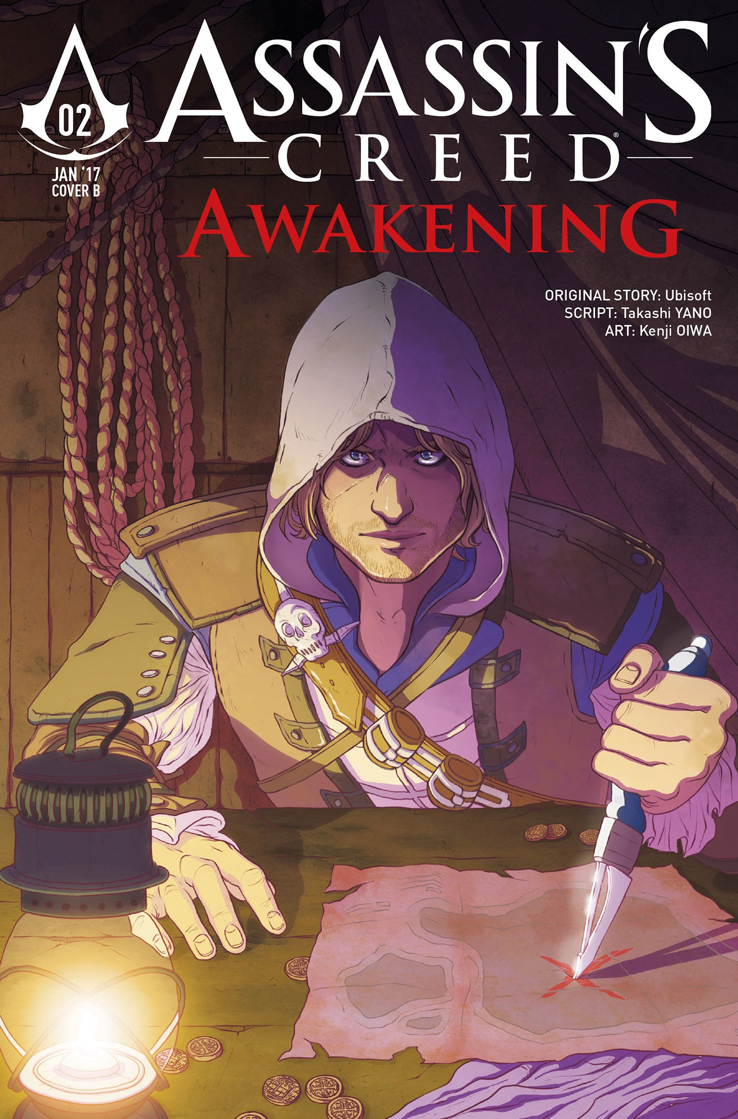 Assassin's Creed - Awakening 02 (January 2017) (cover b)