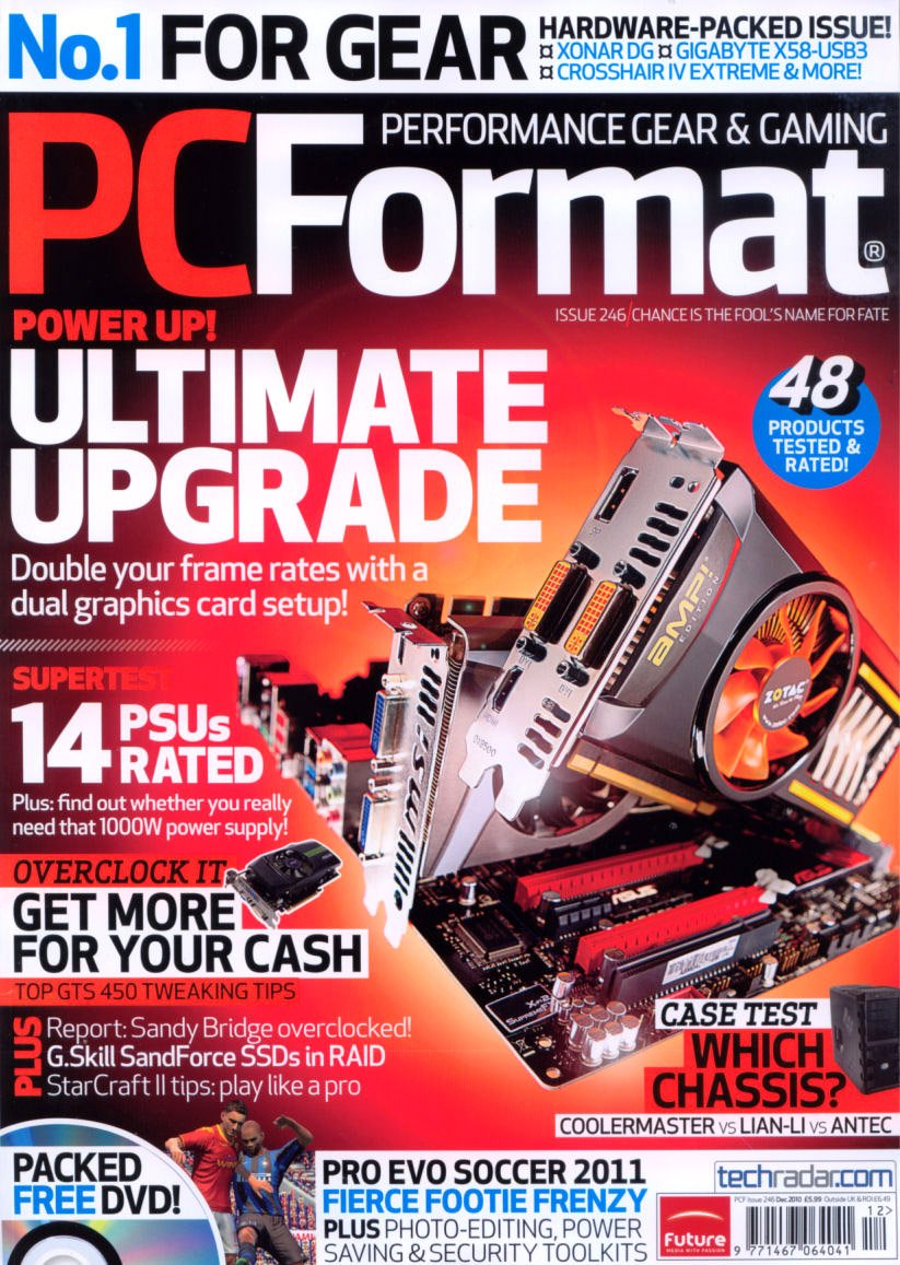 PC Format Issue 246 (December 2010)