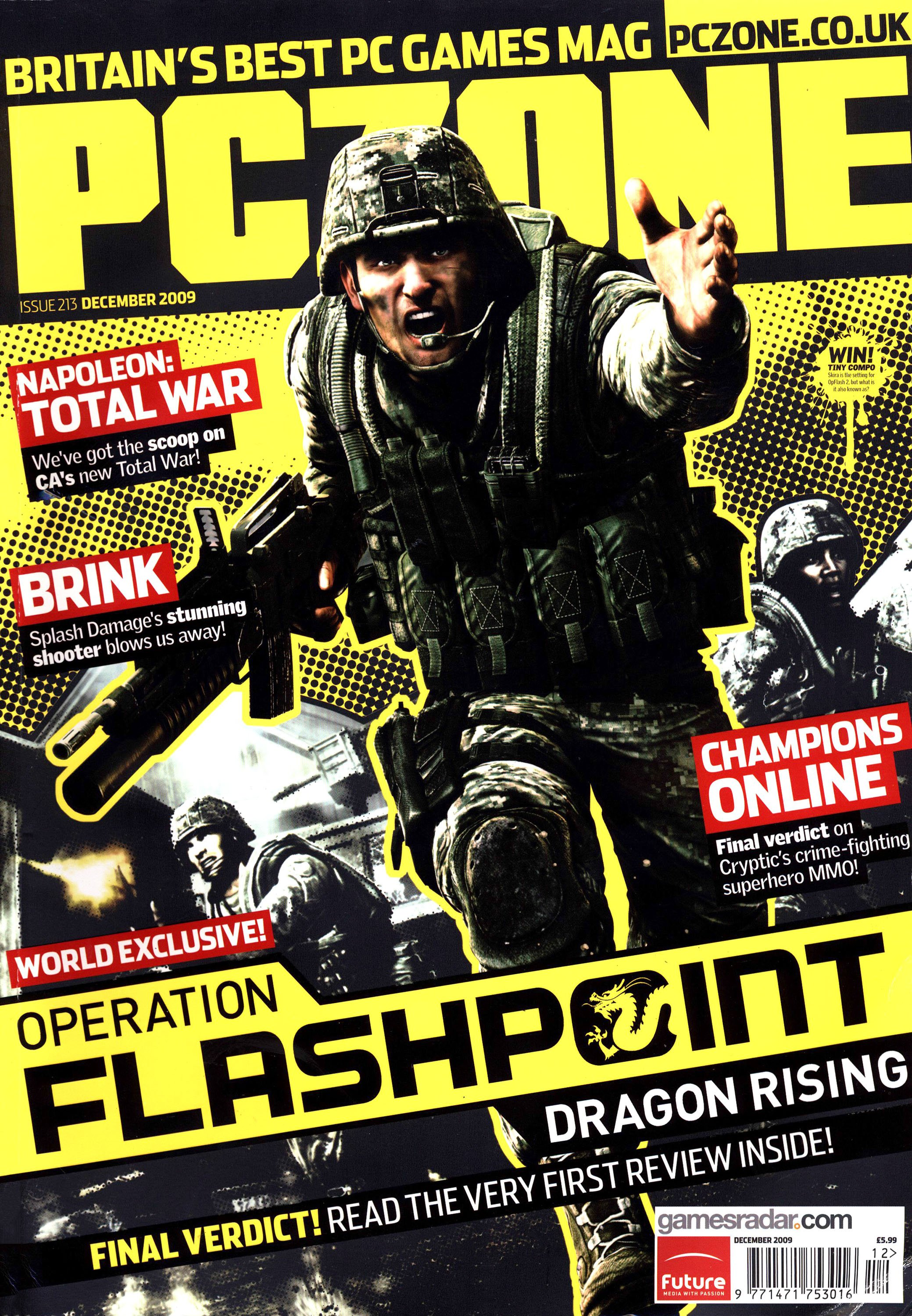 PC Zone Issue 213 (December 2009)