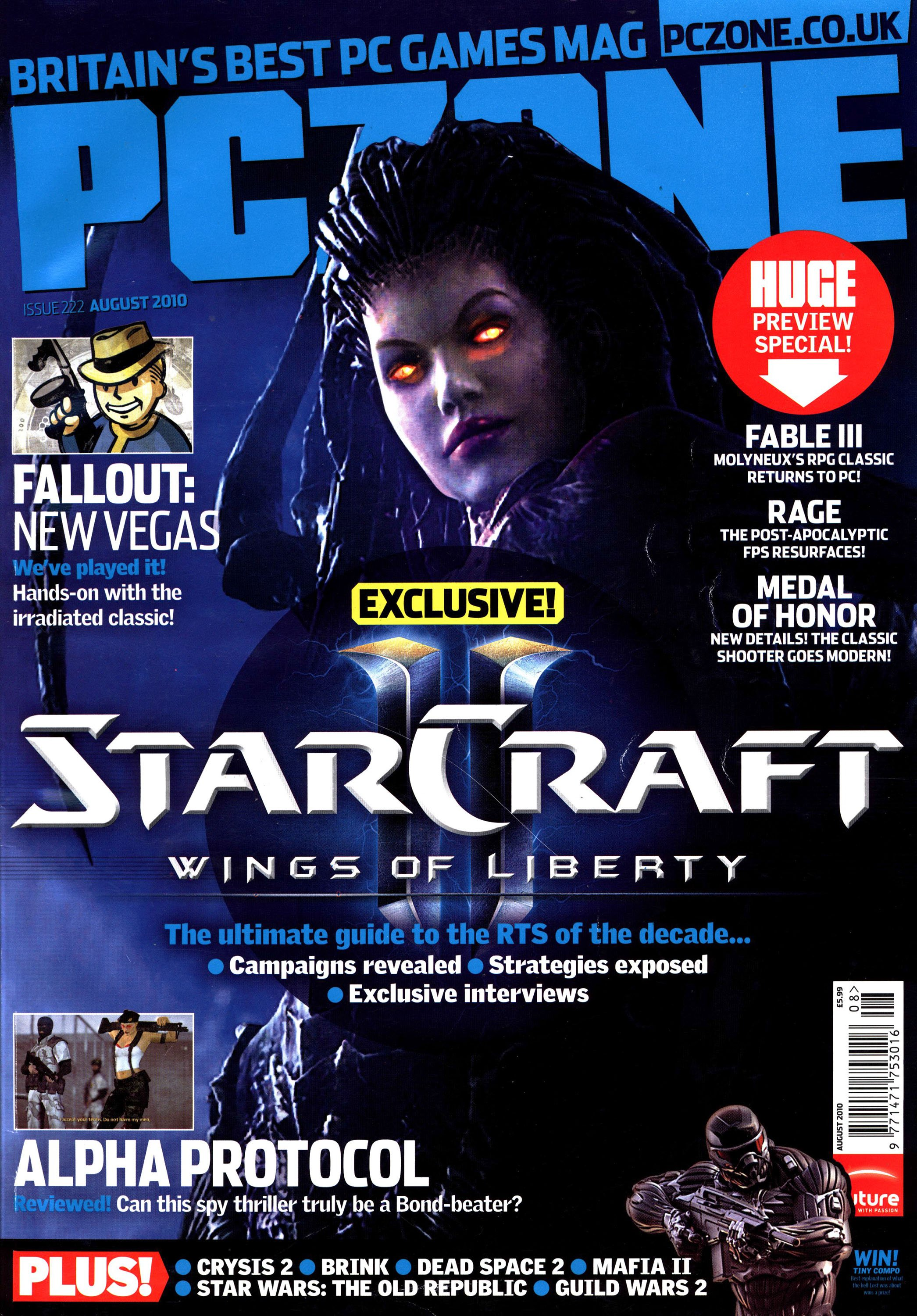 PC Zone Issue 222 (August 2010)