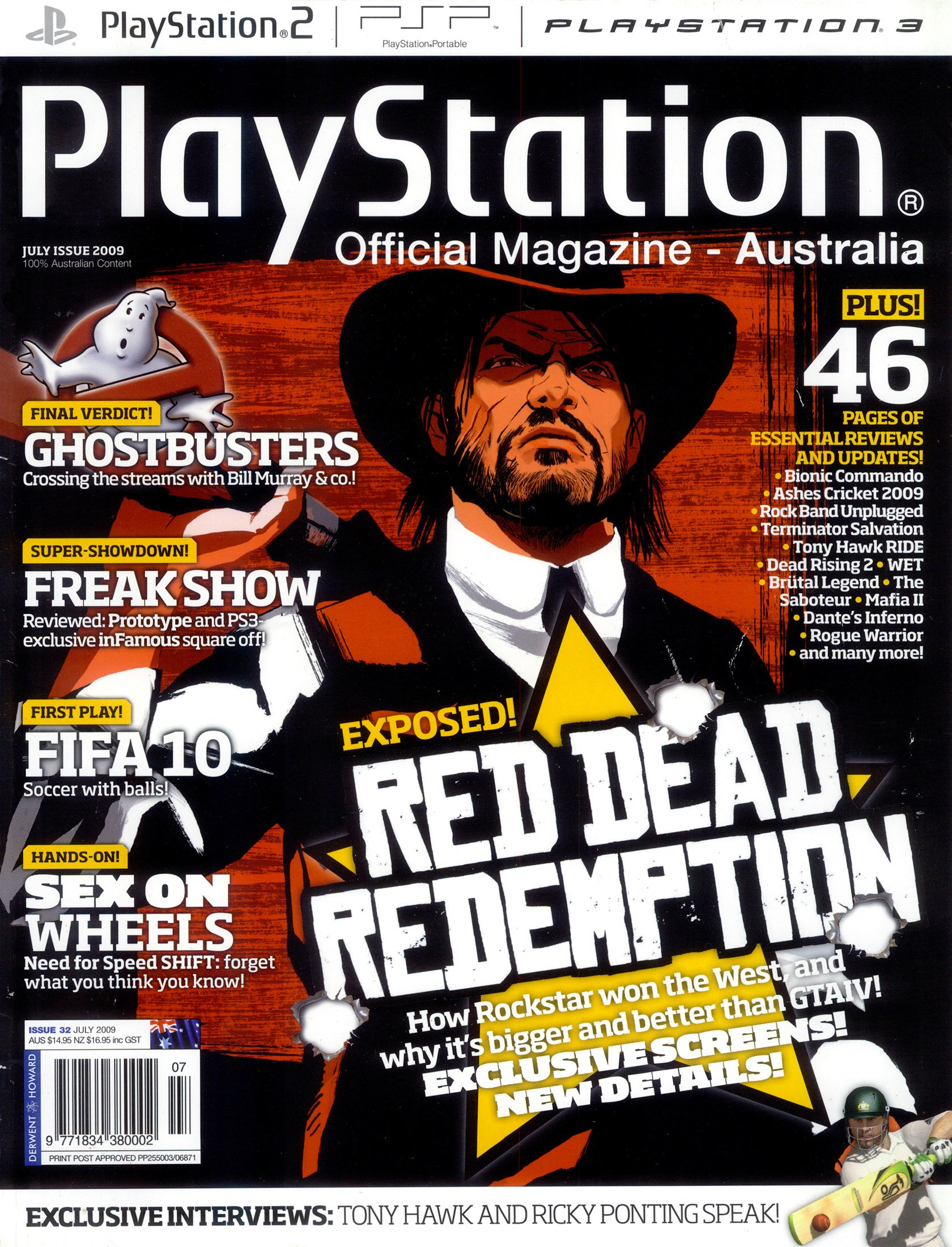 PlayStation Official Magazine Issue 032 (July 2009)