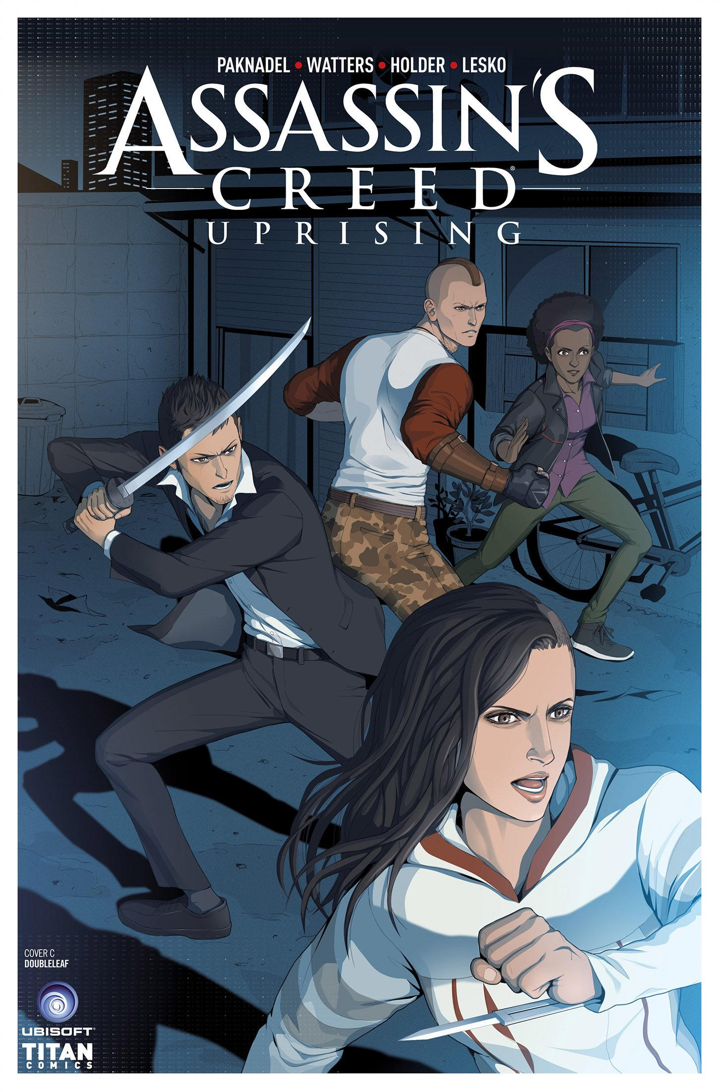 Assassin's Creed - Uprising 05 (August 2017) (cover c)