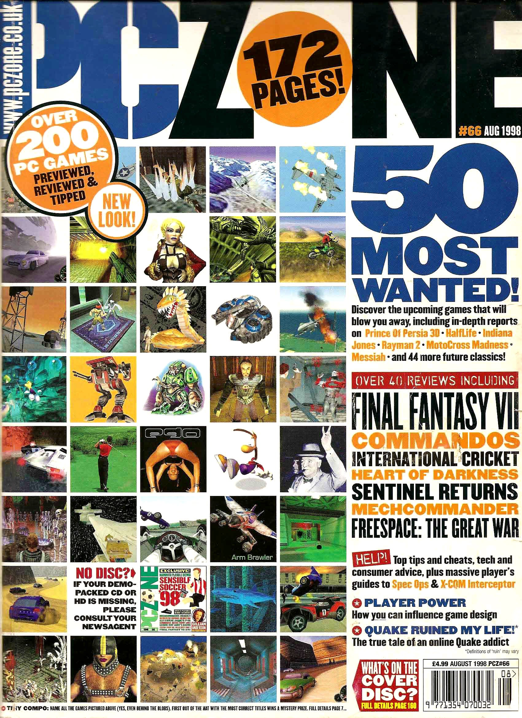PC Zone Issue 066 (August 1998)