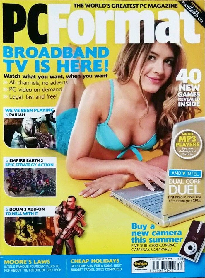 PC Format Issue 175 (June 2005)