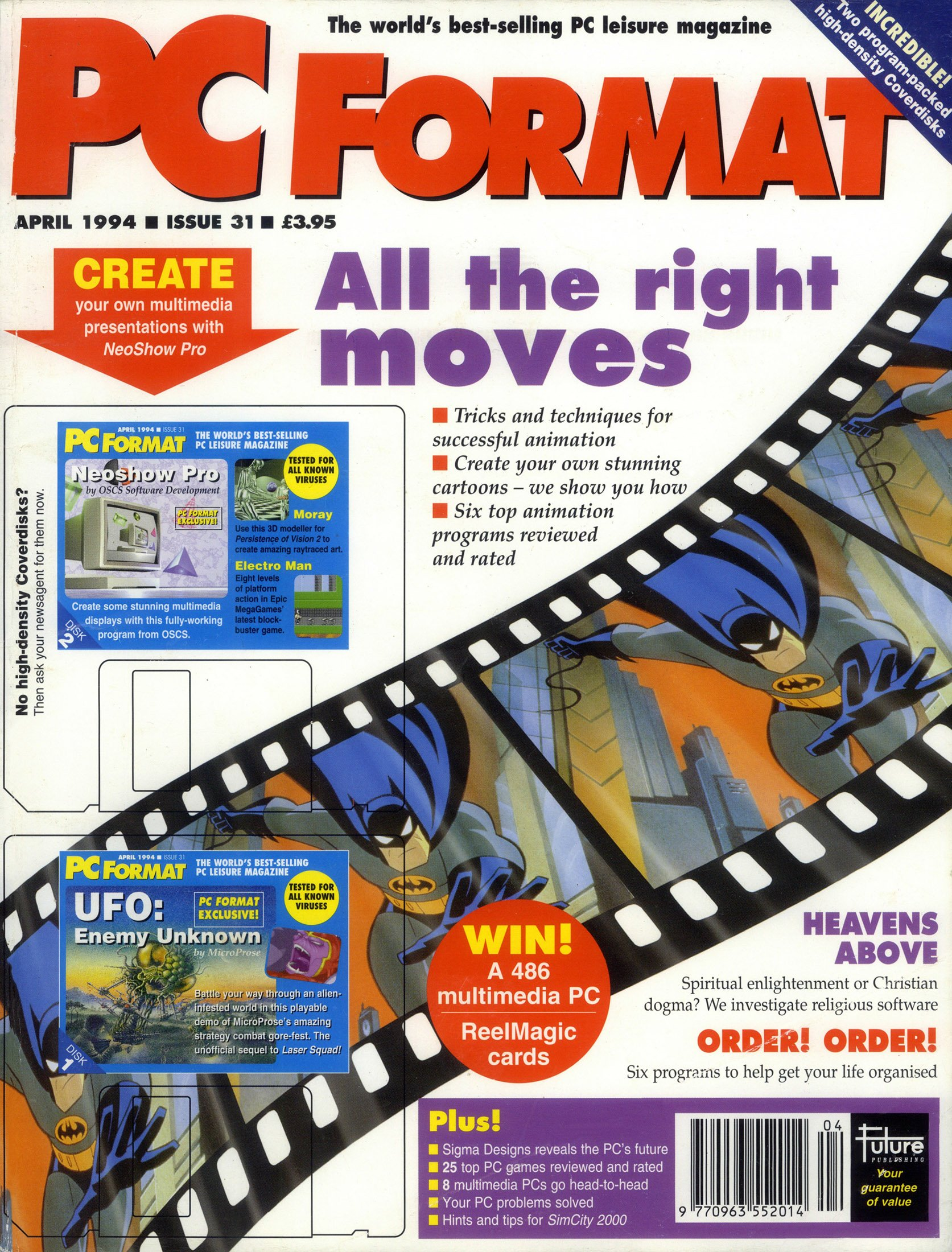 PC Format Issue 031 (April 1994)