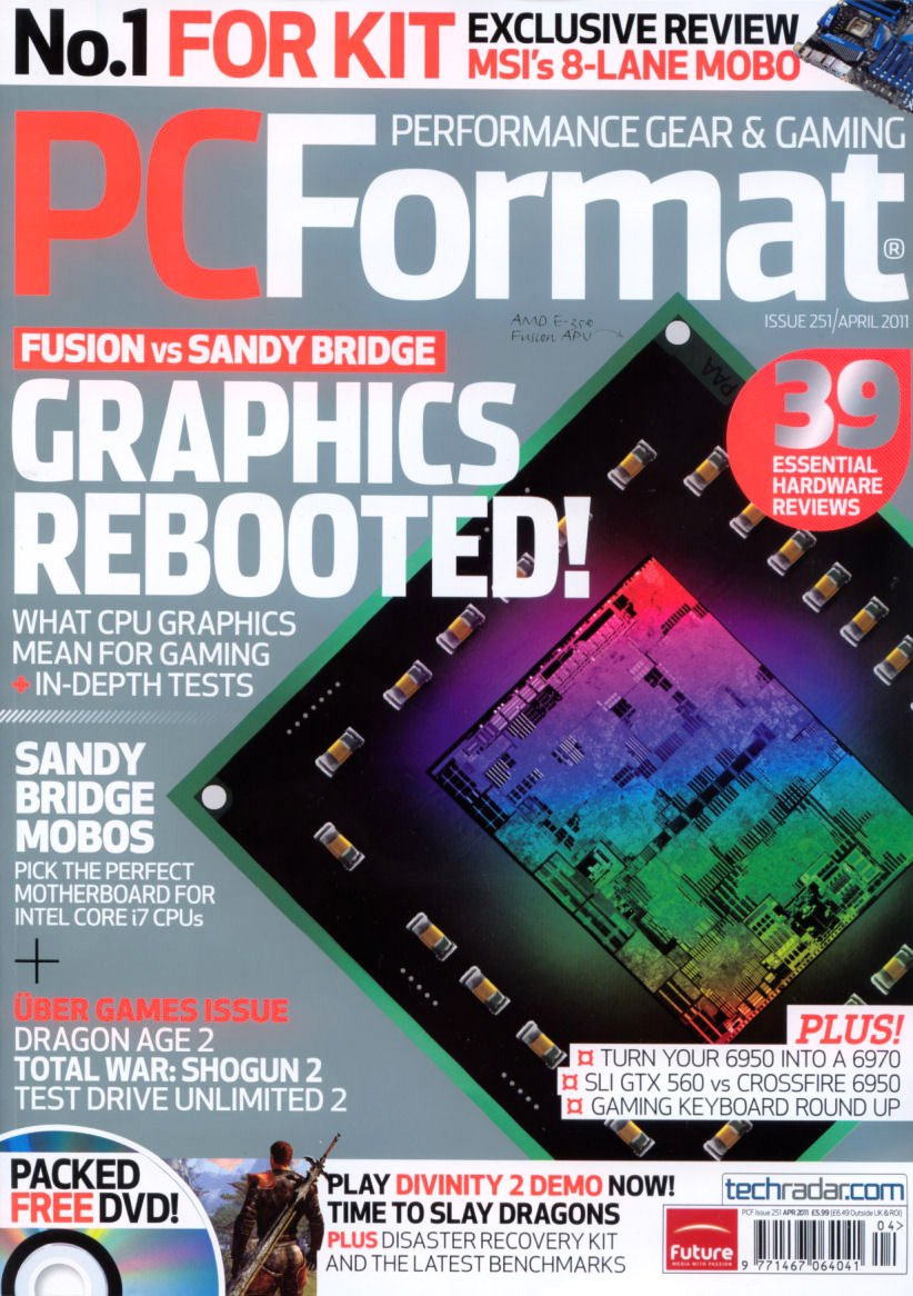 PC Format Issue 251 (April 2011)