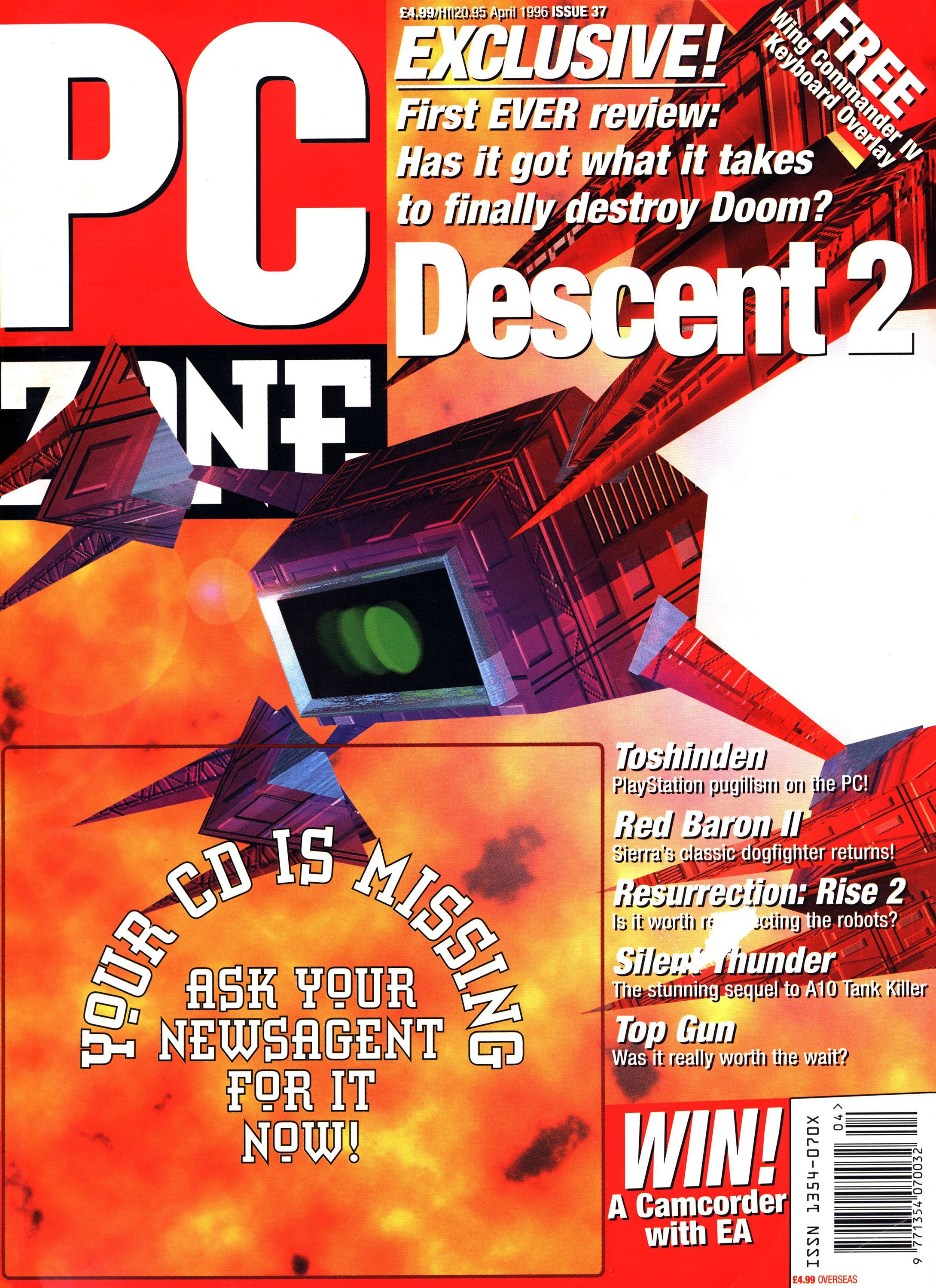 PC Zone Issue 037 (April 1996)