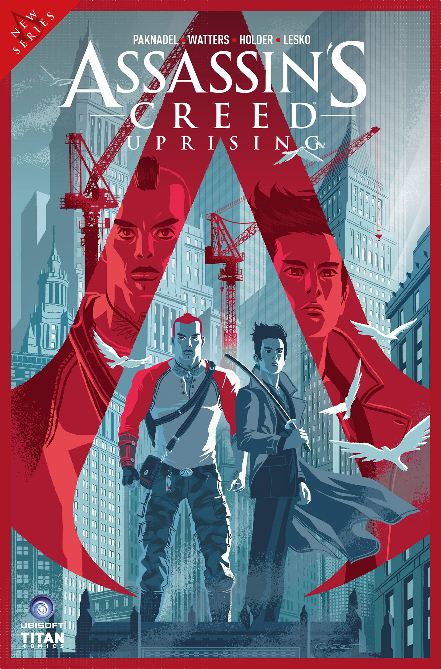 Assassin's Creed - Uprising 02 (April 2017) (cover d)