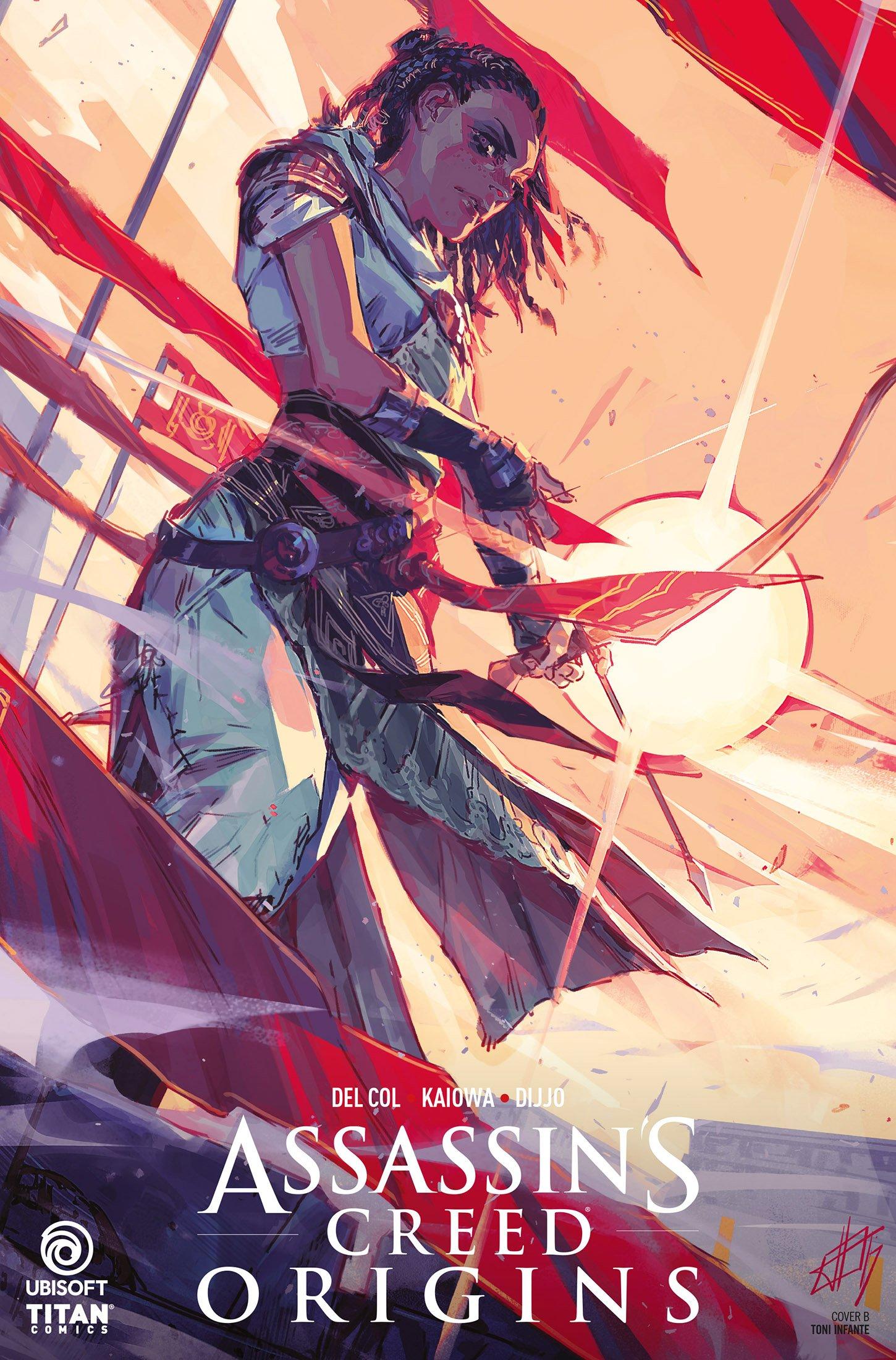 Assassin's Creed - Origins 02 (April 2018) (cover b)