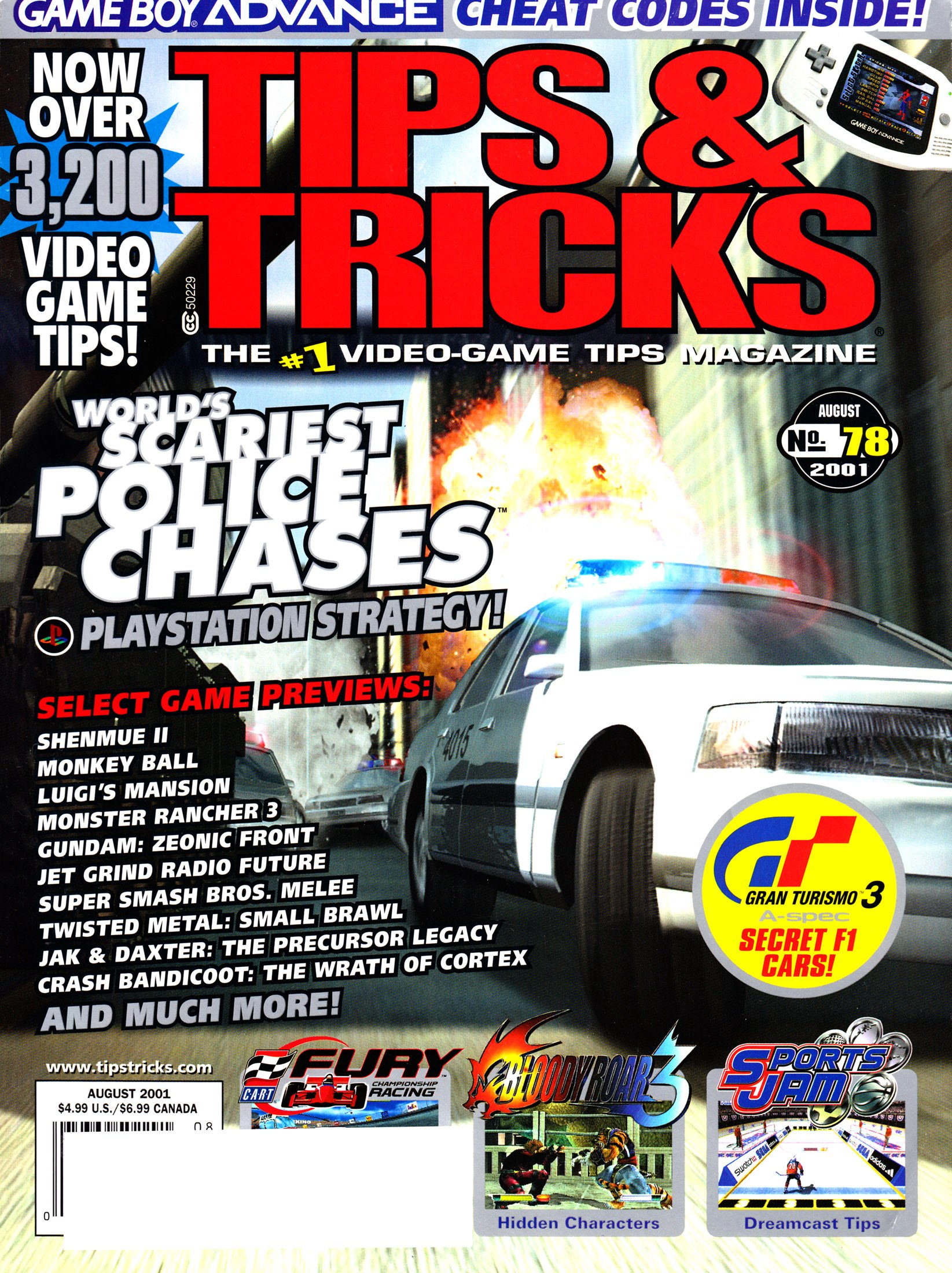 Tips & Tricks Issue 078 (August 2001)