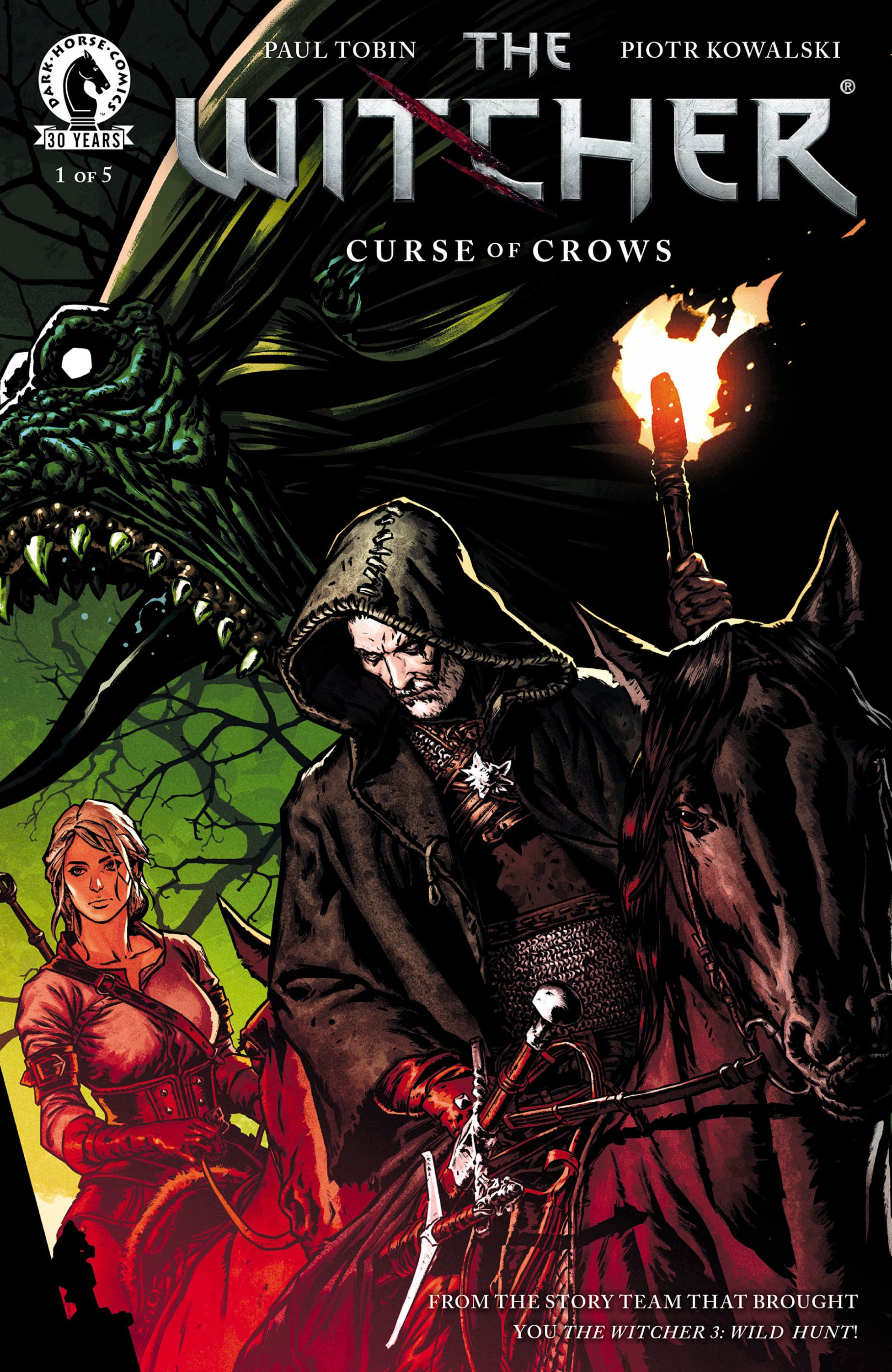 The Witcher - Curse of Crows 001 (August 2016)