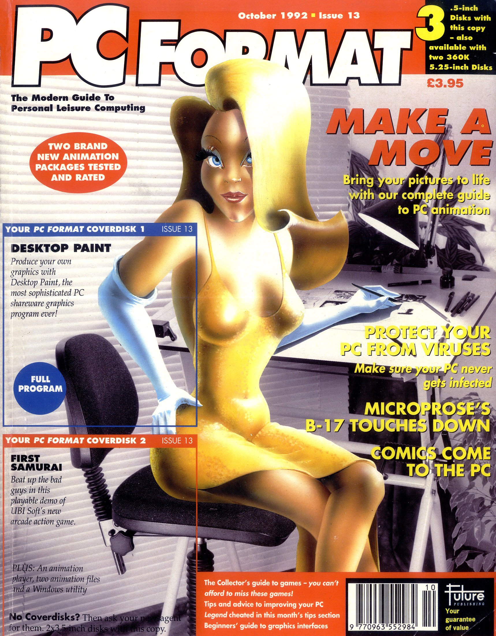 PC Format Issue 013 (October 1992)