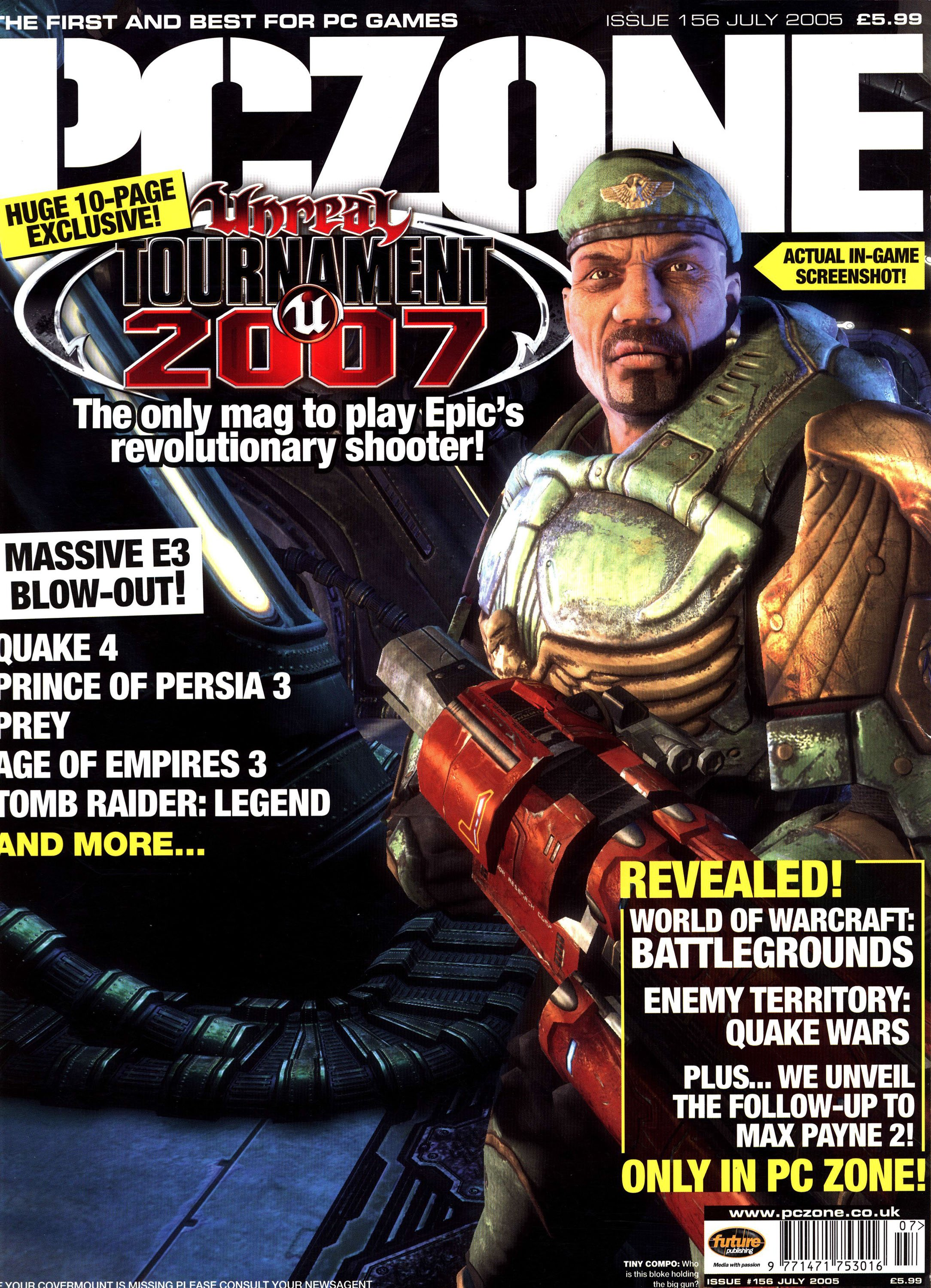 PC Zone Issue 156 (July 2005)