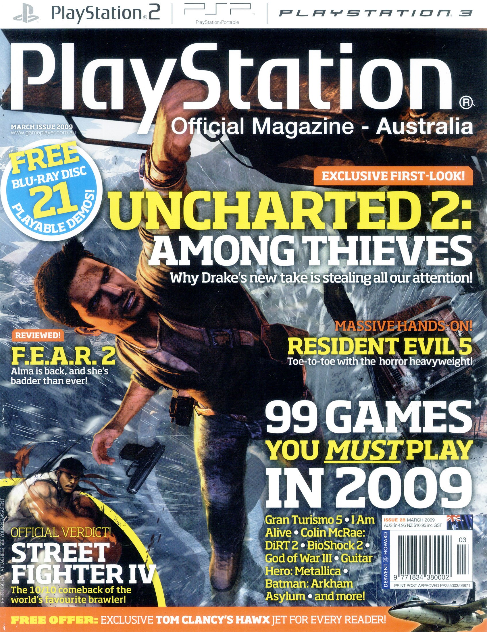 PlayStation Official Magazine Issue 028 (March 2009)