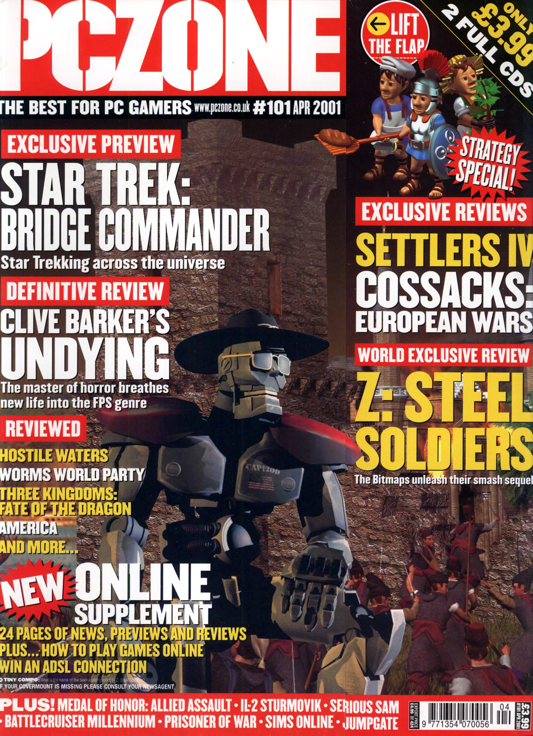 PC Zone Issue 101 (April 2001)