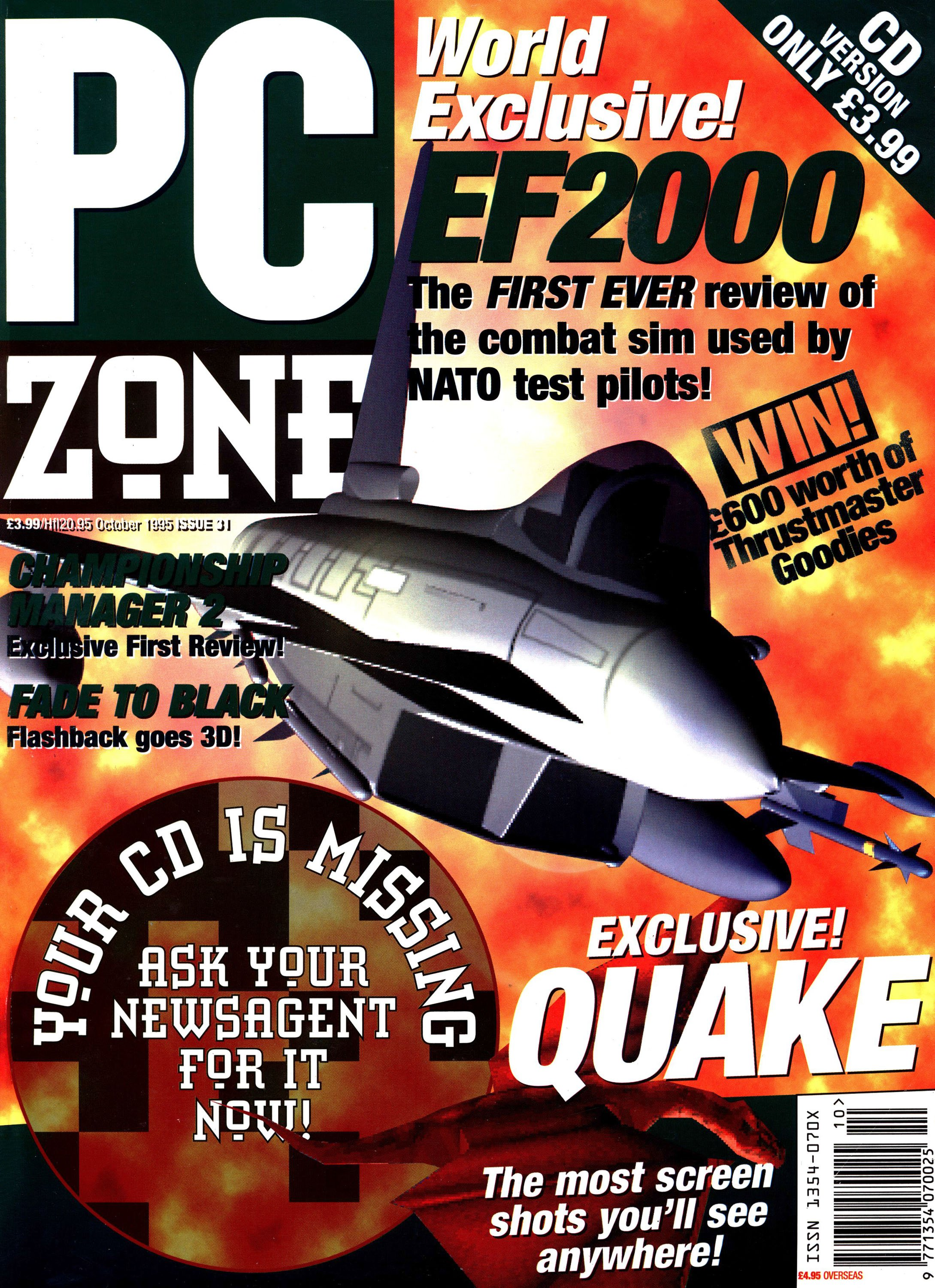 PC Zone Issue 031 (October 1995)