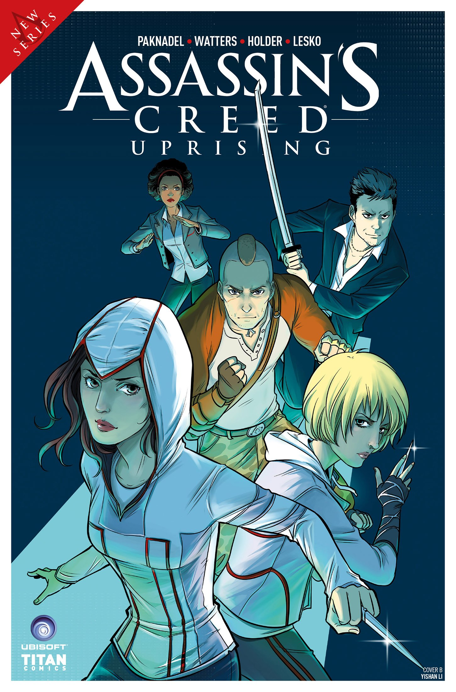 Assassin's Creed - Uprising 04 (June 2017) (cover b)