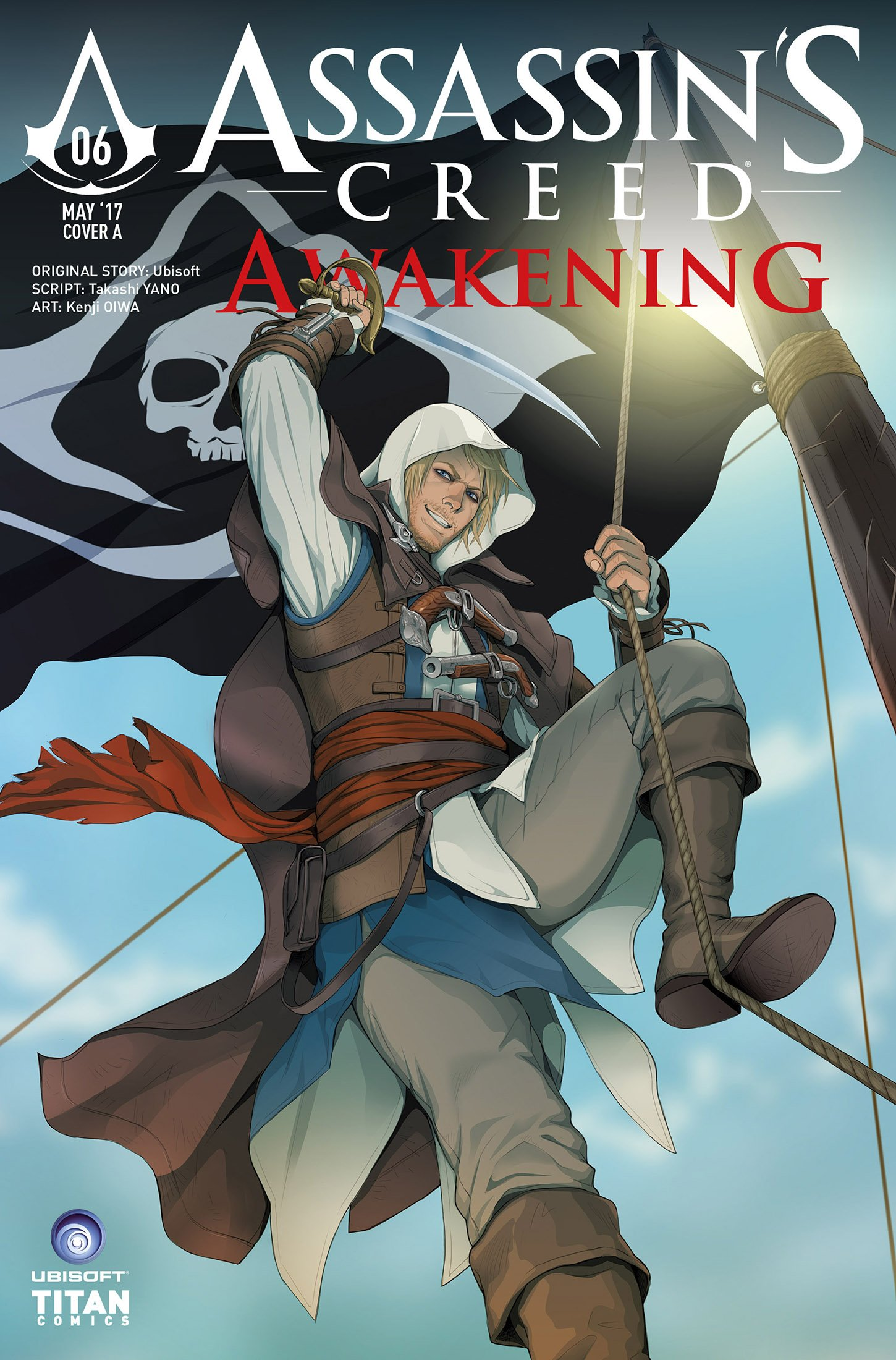 Assassin's Creed - Awakening 06 (May 2017) (cover a)