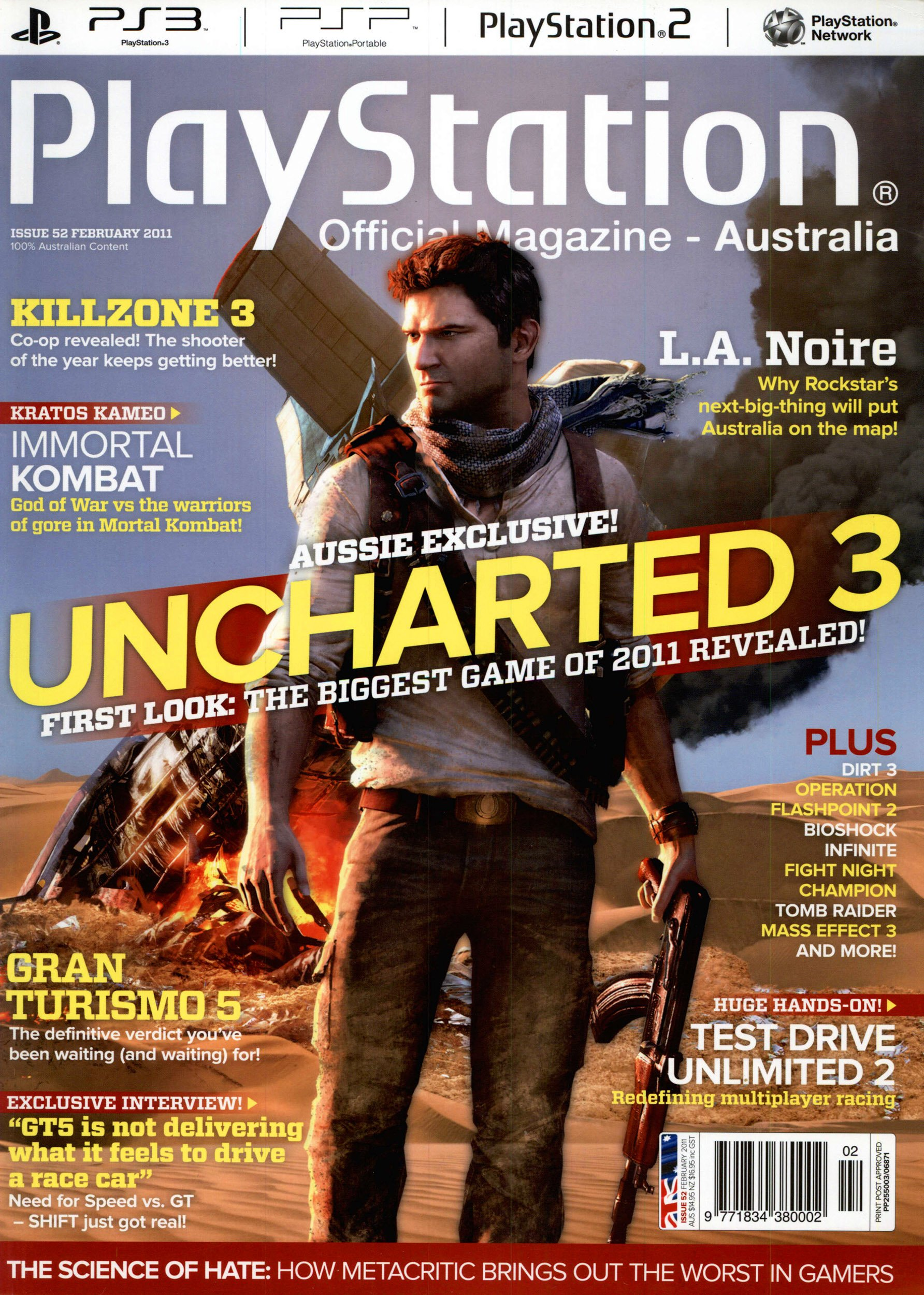 PlayStation Official Magazine Issue 052 (February 2011)
