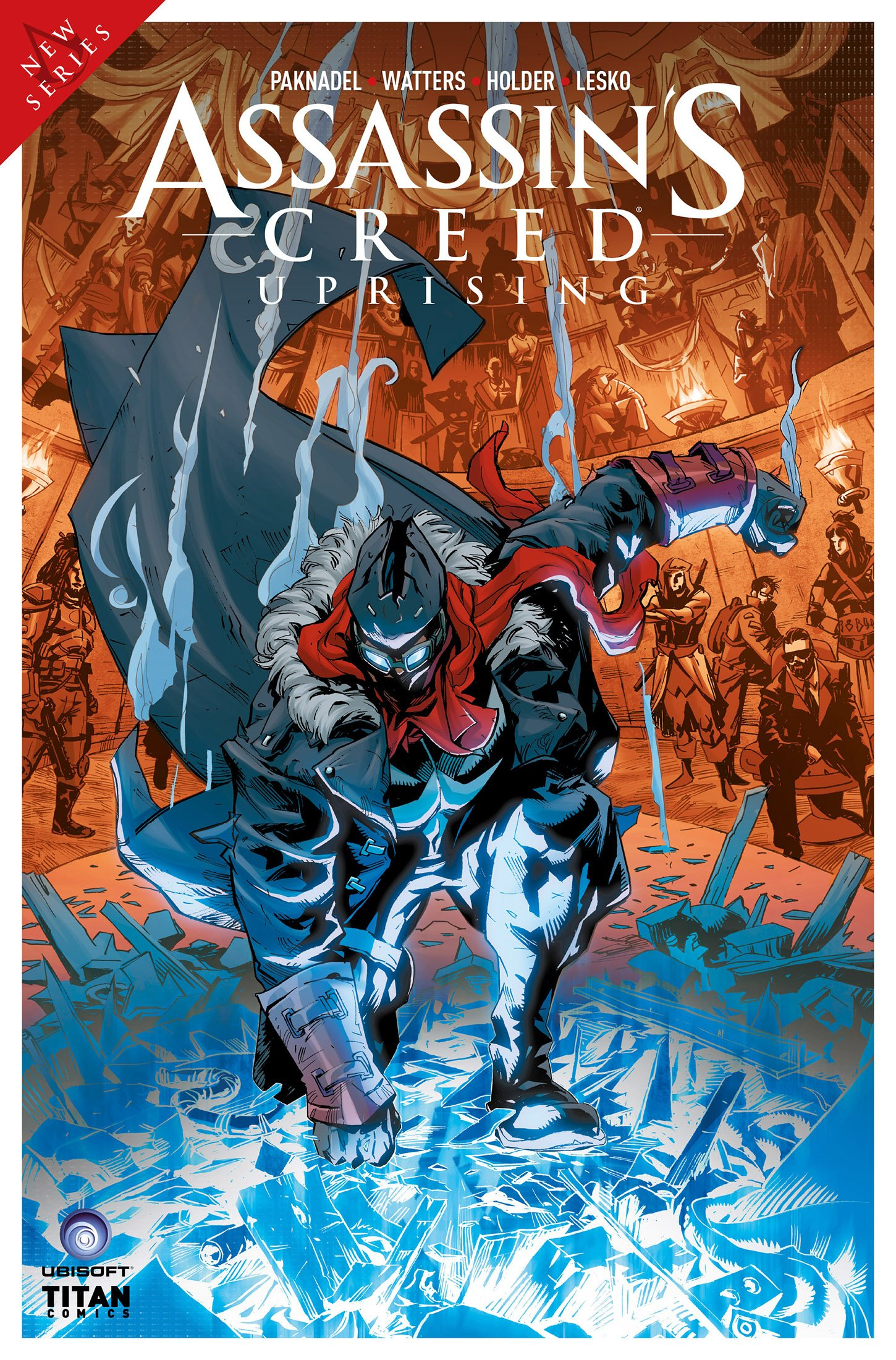 Assassin's Creed - Uprising 02 (April 2017) (cover c)