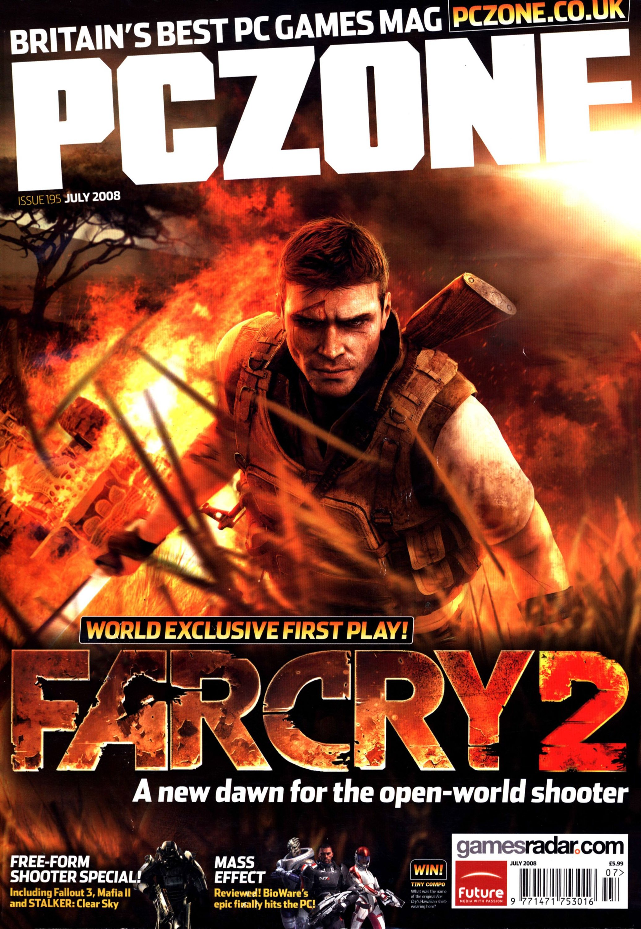 PC Zone Issue 195 (July 2008)