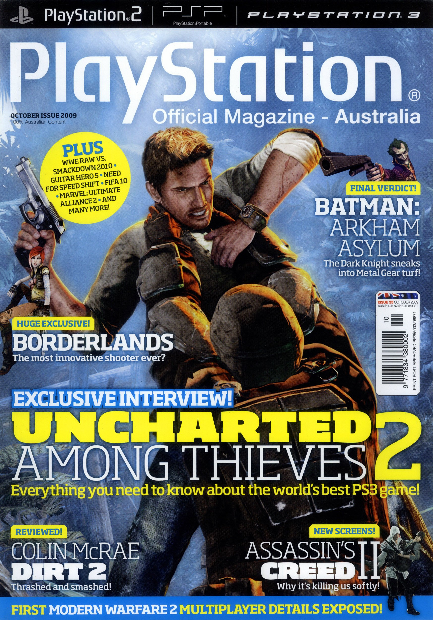 PlayStation Official Magazine Issue 035 (October 2009)