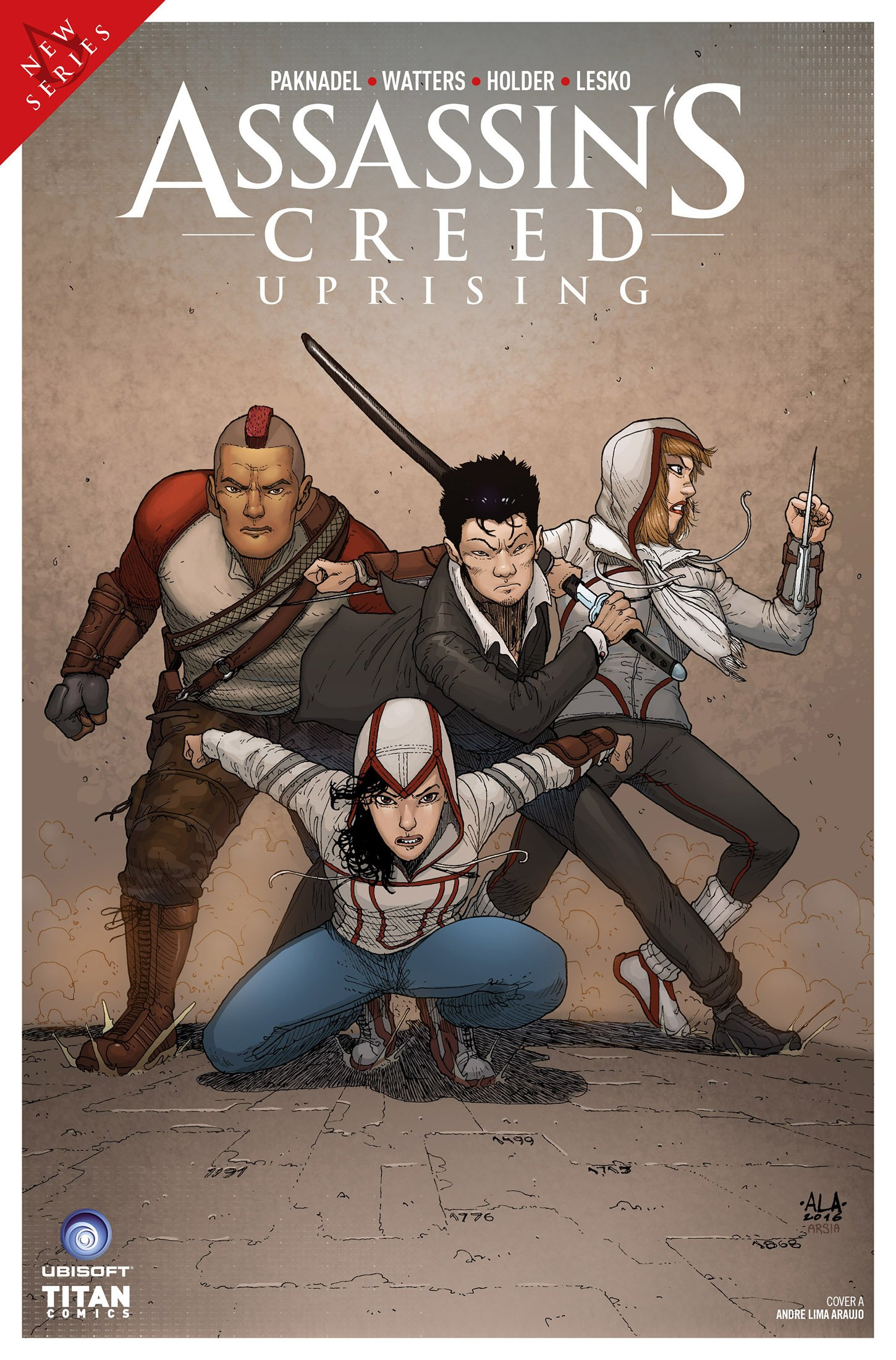 Assassin's Creed - Uprising 03 (May 2017) (cover a)