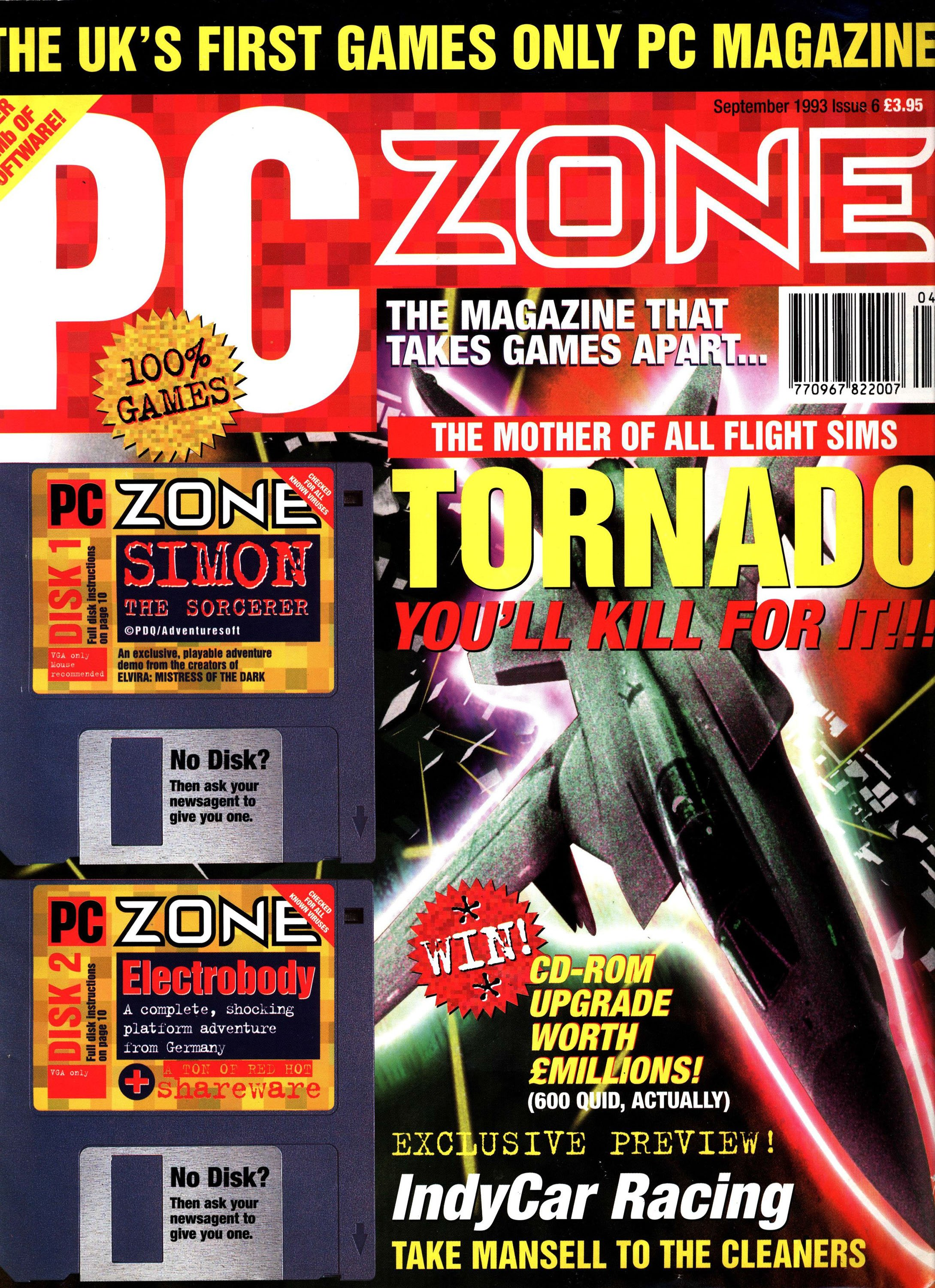 PC Zone Issue 006 (September 1993)
