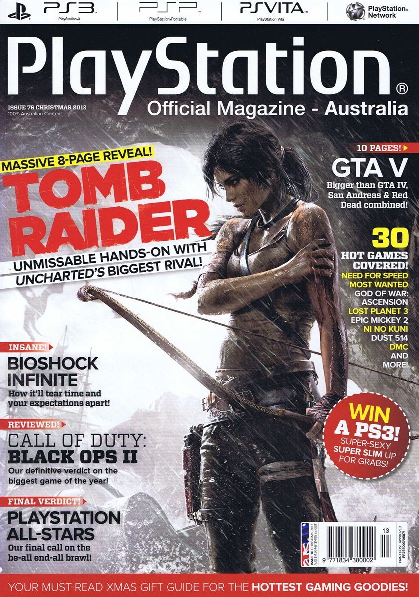 PlayStation Official Magazine Issue 076 (Christmas 2012)