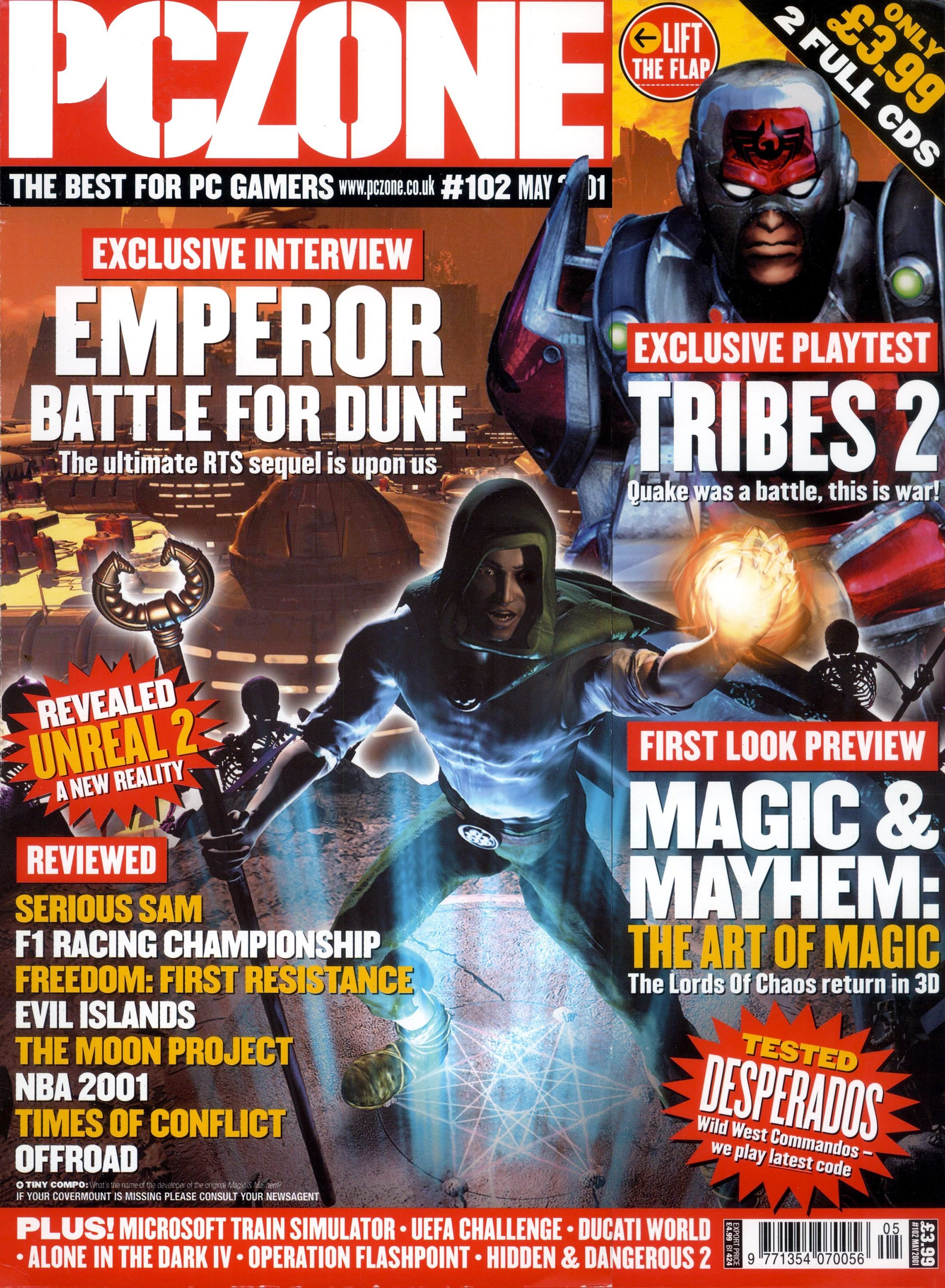 PC Zone Issue 102 (May 2001)