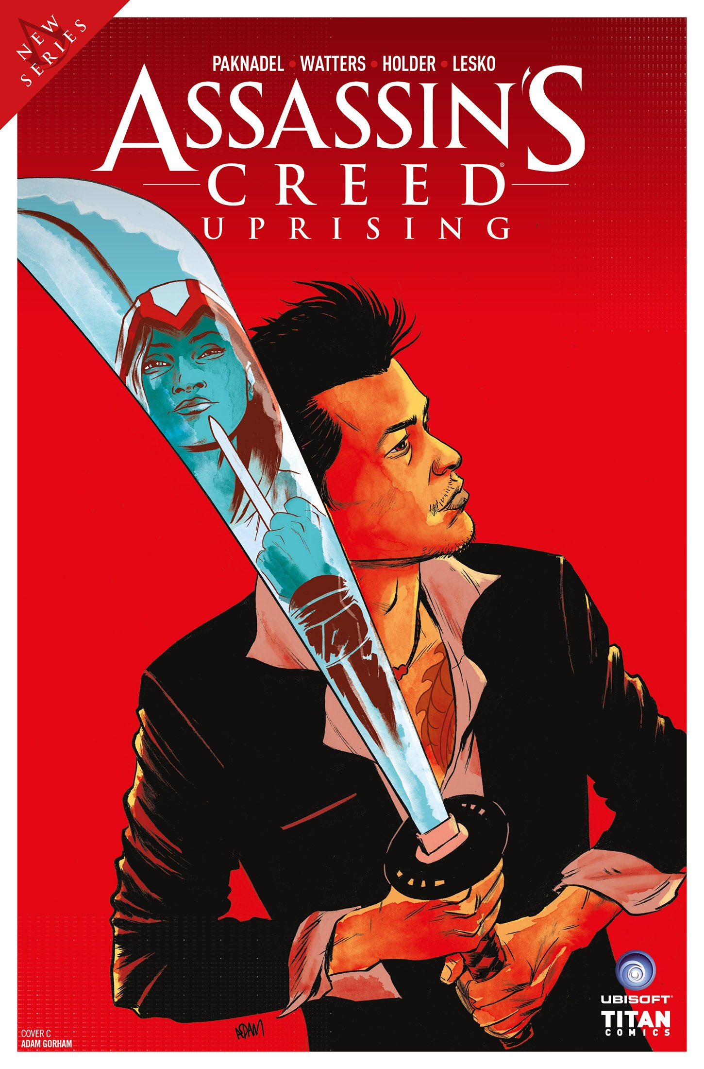 Assassin's Creed - Uprising 04 (June 2017) (cover c)