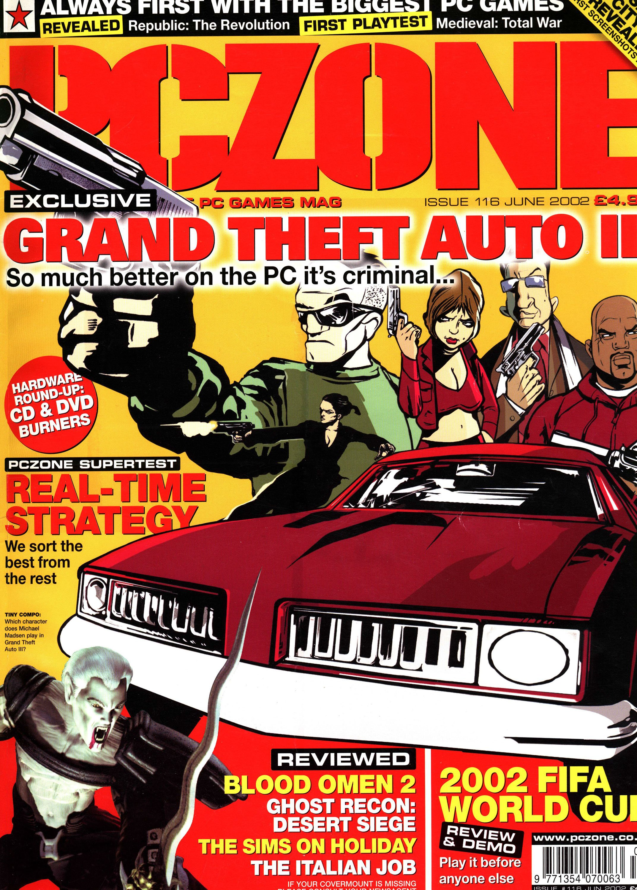 PC Zone Issue 116 (June 2002)