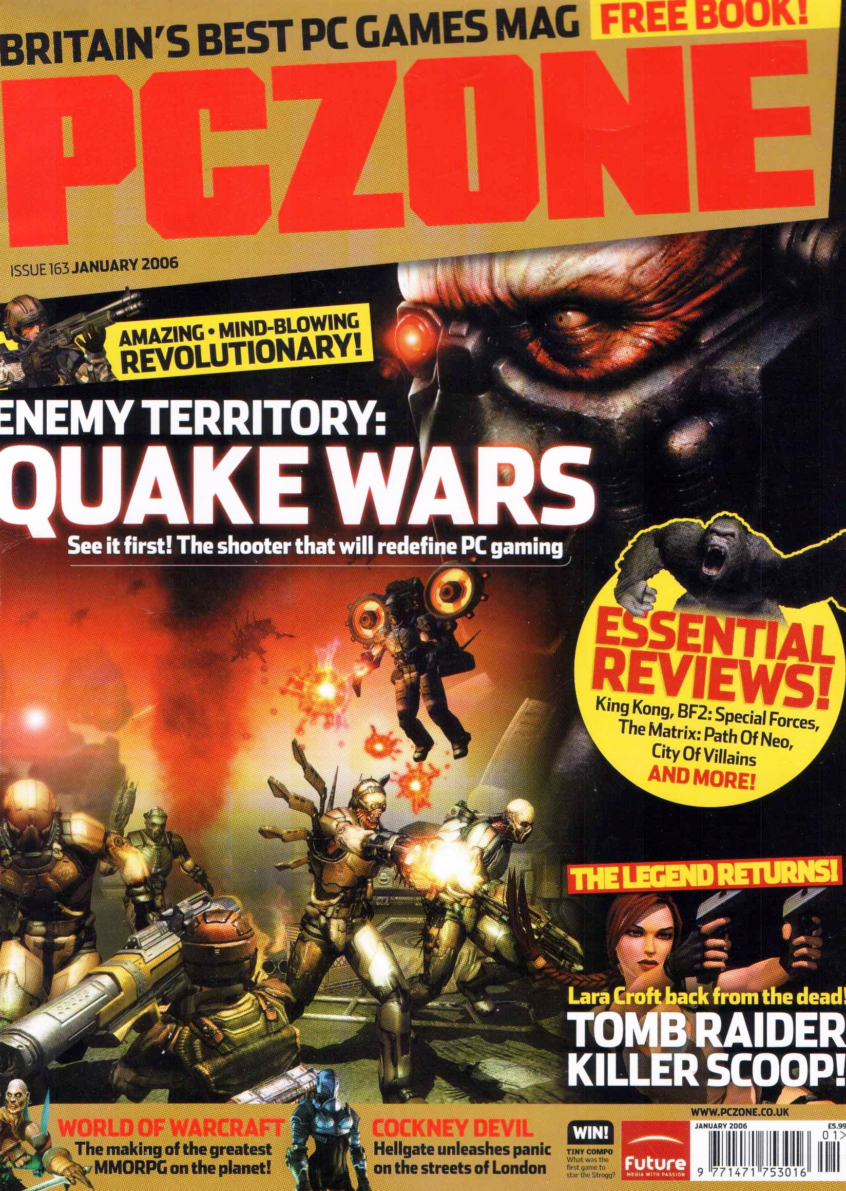 PC Zone Issue 163 (January 2006)
