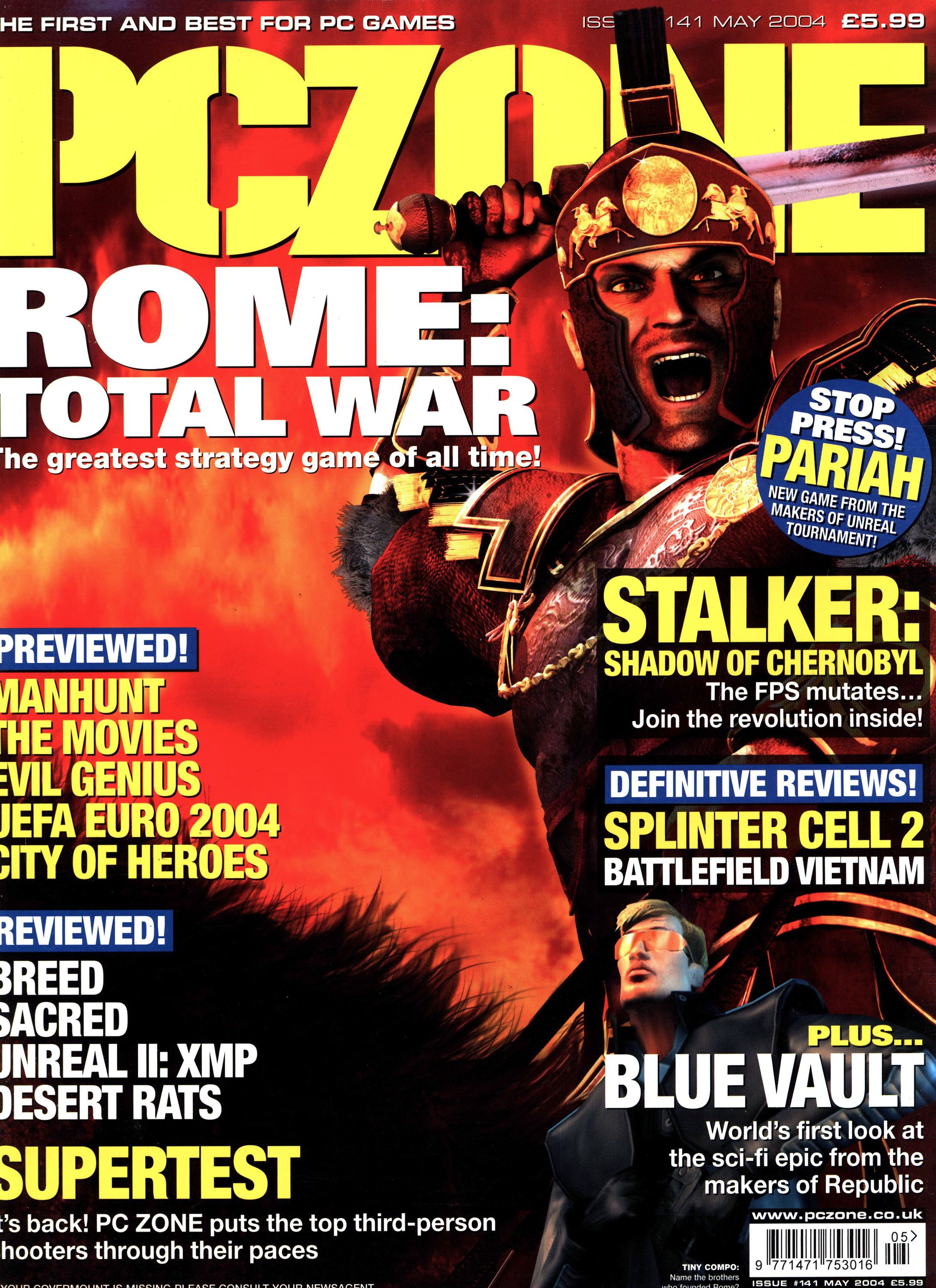 PC Zone Issue 141 (May 2004)