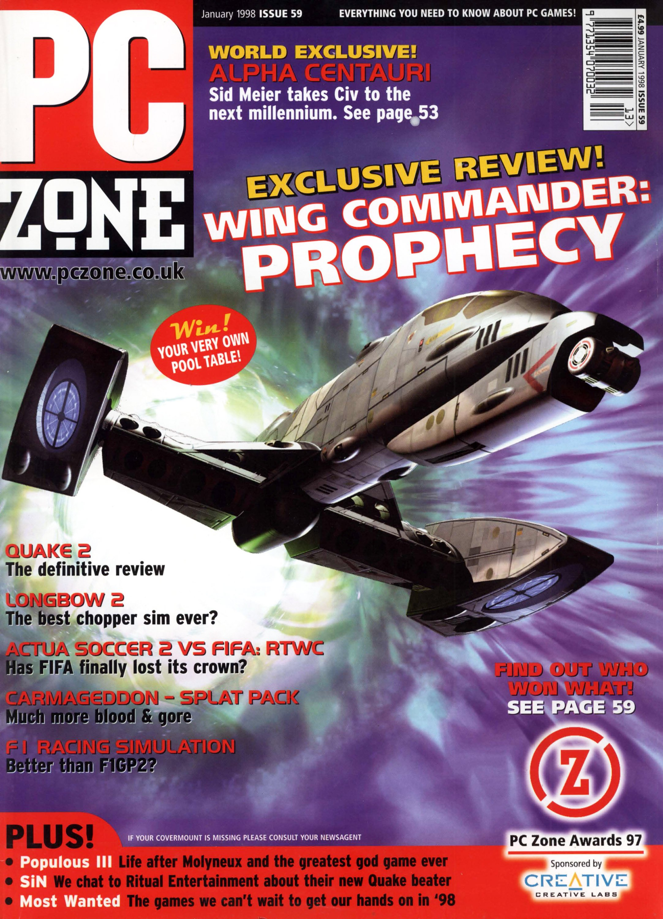 PC Zone Issue 059 (January 1998)