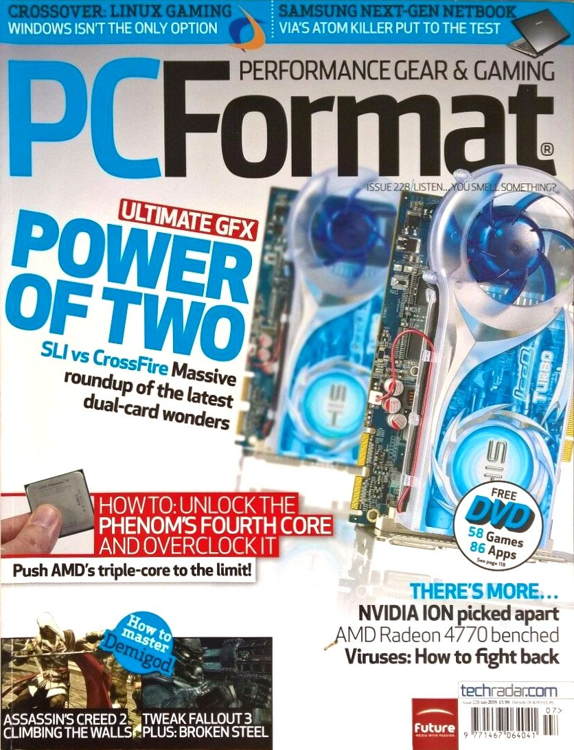 PC Format Issue 228 (July 2009)