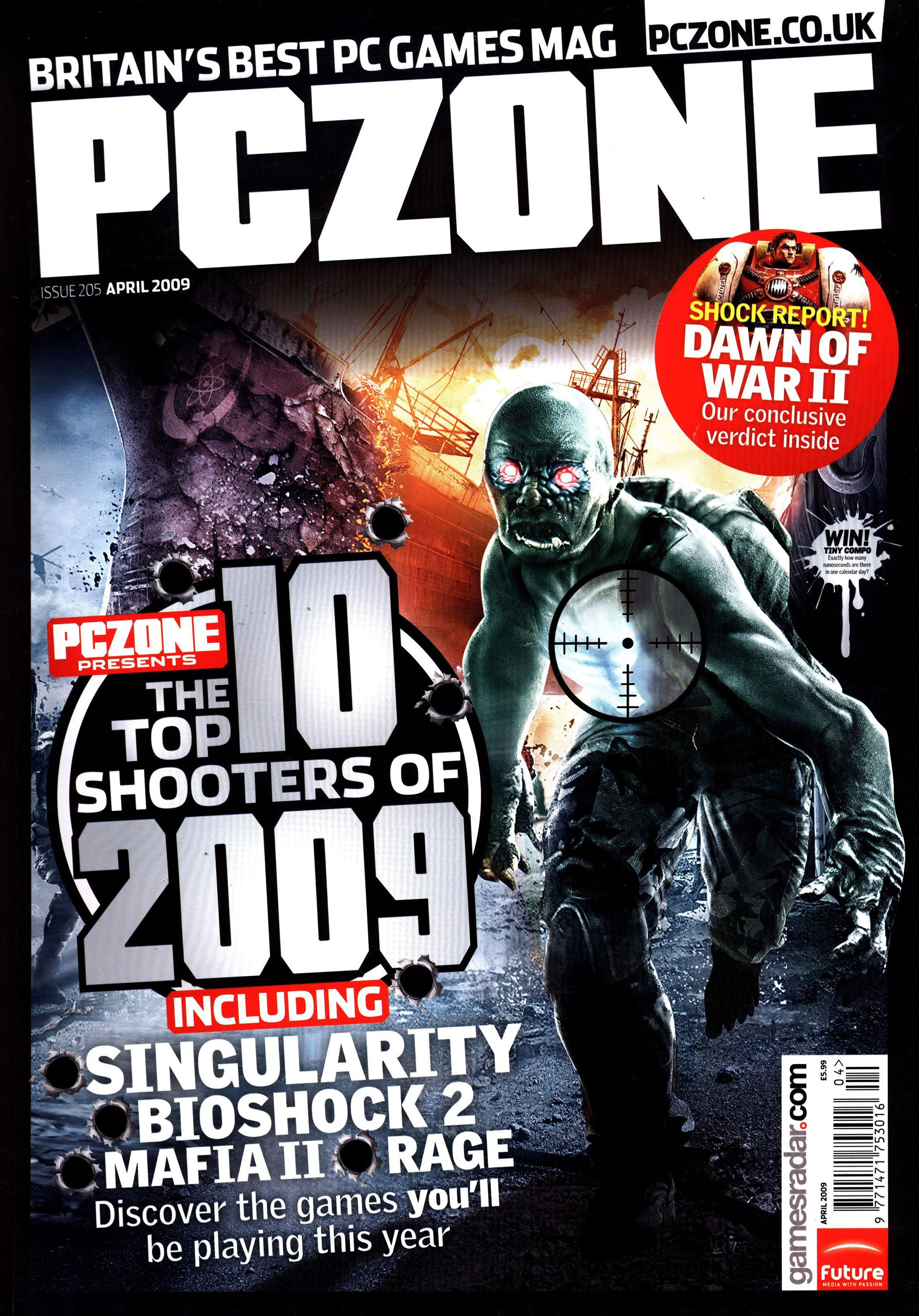 PC Zone Issue 205 (April 2009)