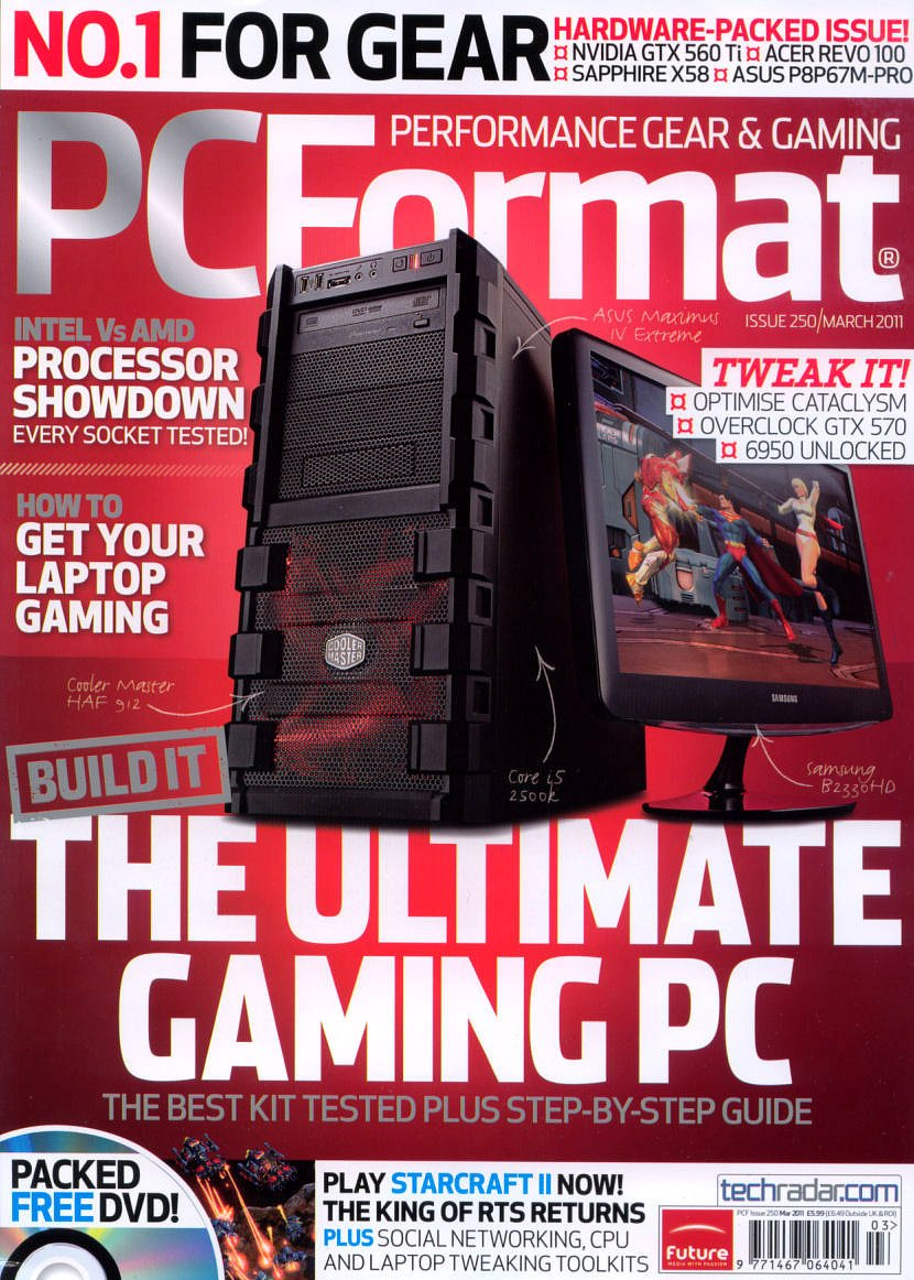 PC Format Issue 250 (March 2011)