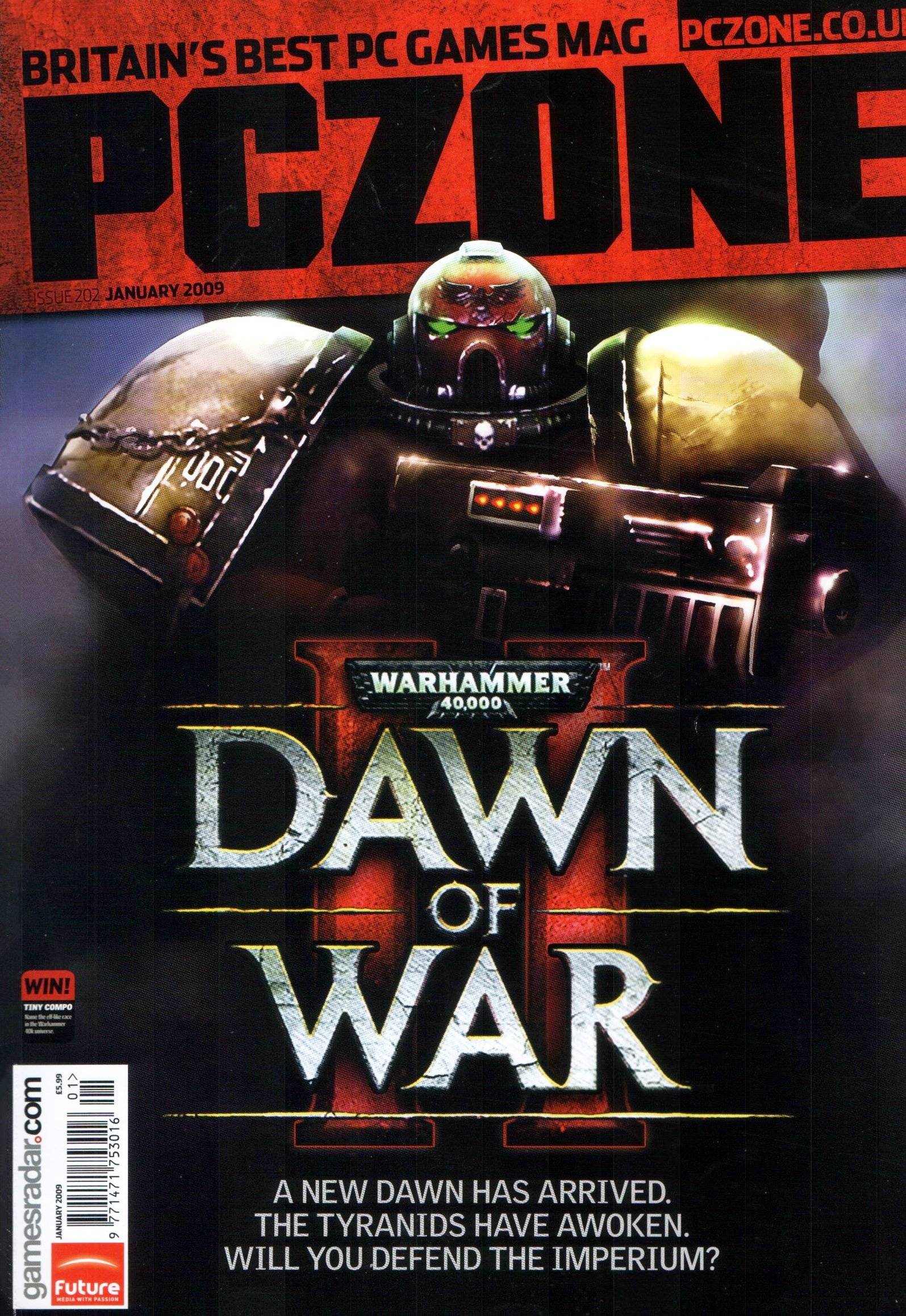 PC Zone Issue 202 (January 2009)