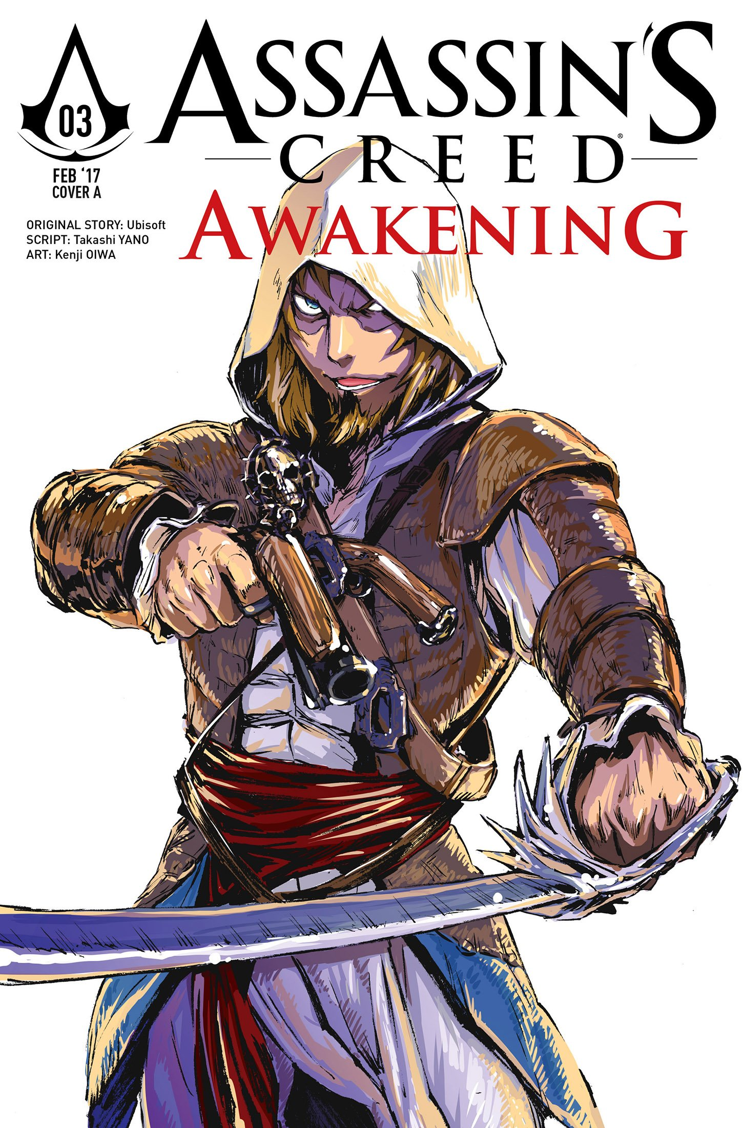 Assassin's Creed - Awakening 03 (February 2017) (cover a)
