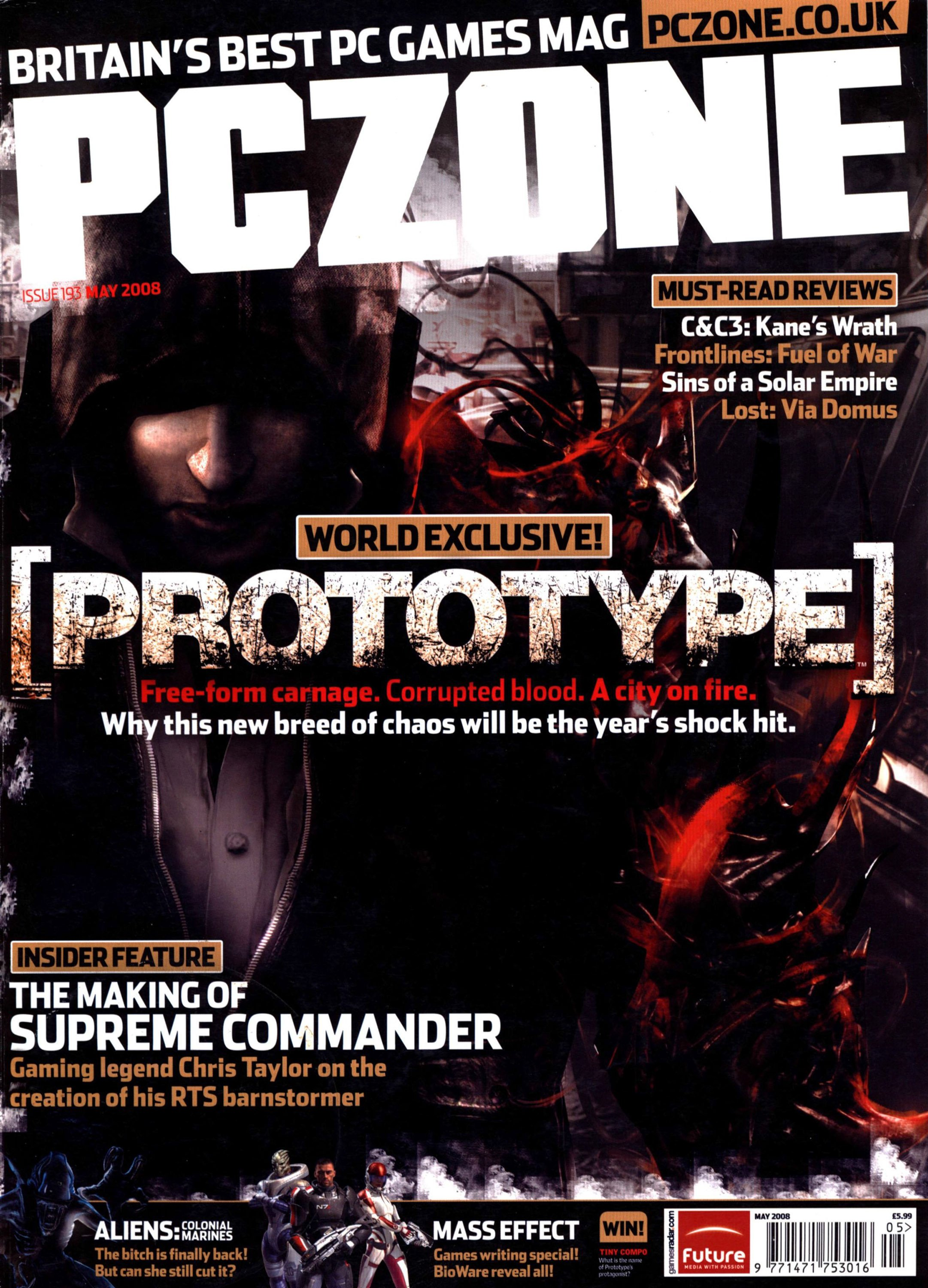 PC Zone Issue 193 (May 2008)