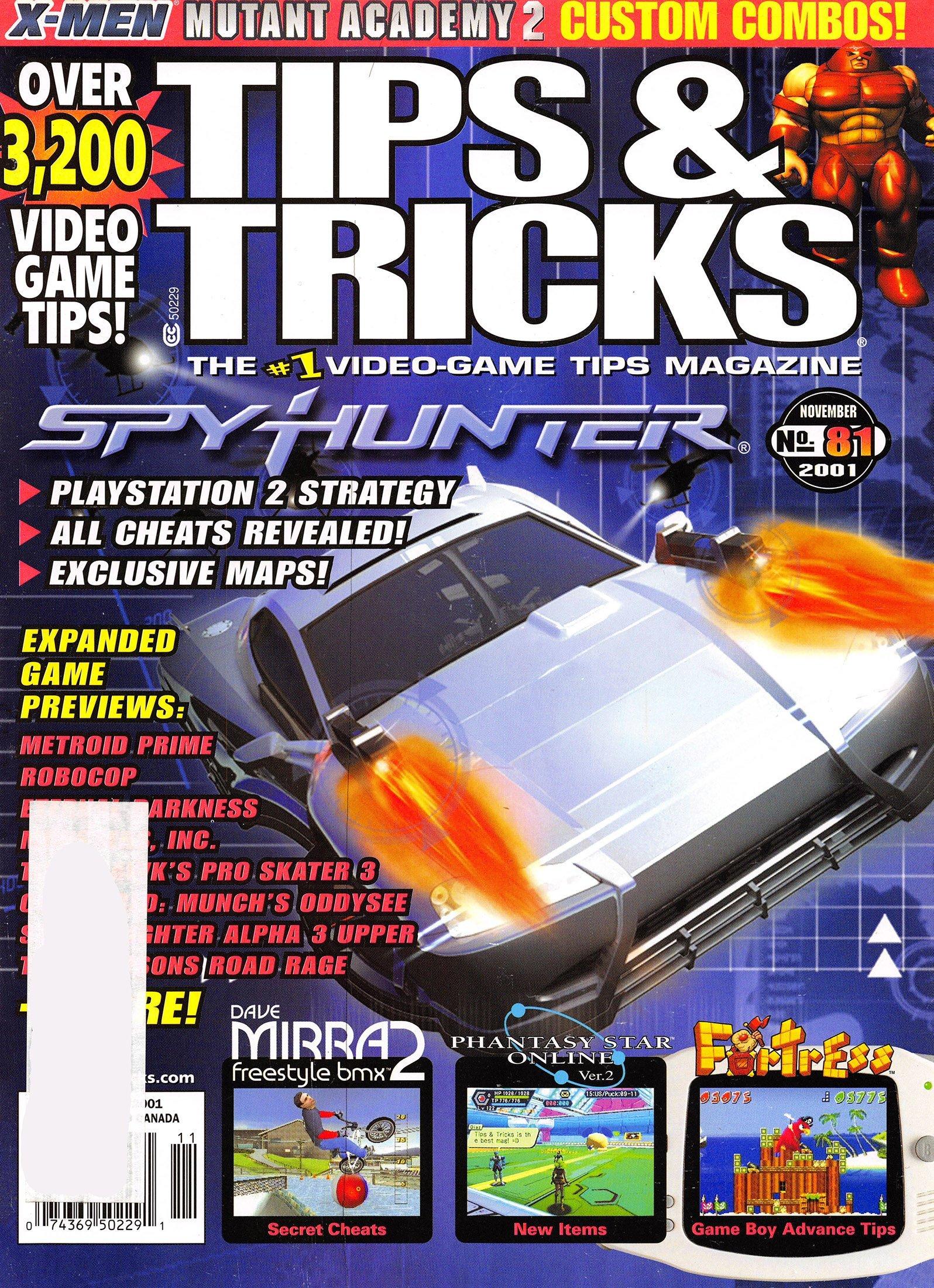 Tips & Tricks Issue 081 November 2001