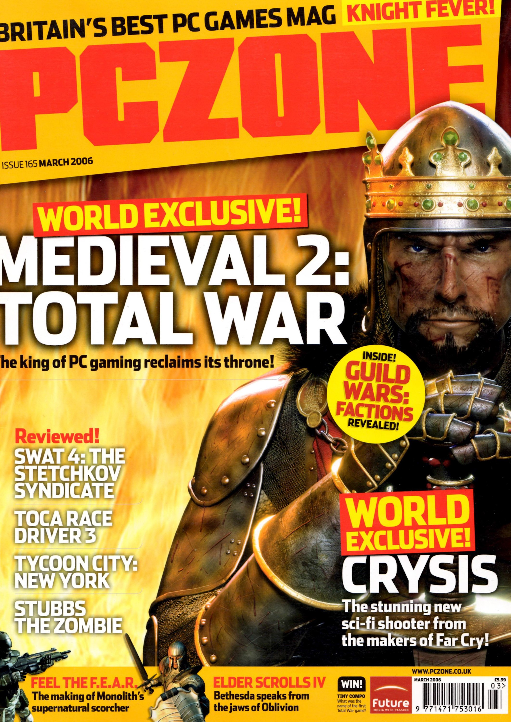 PC Zone Issue 165 (March 2006)