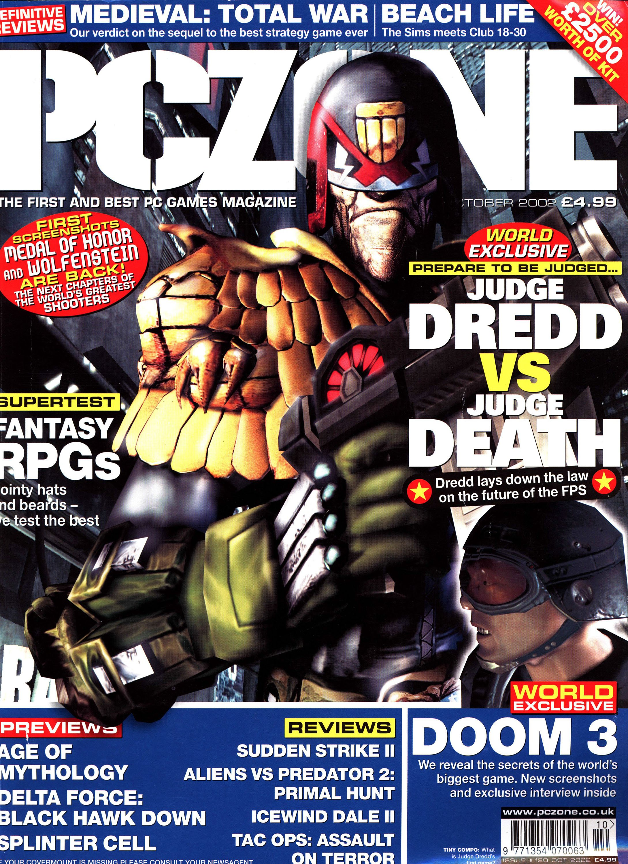 PC Zone Issue 120 (October 2002)