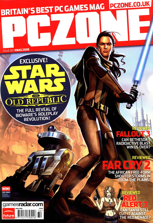 PC Zone Issue 201 (Xmas 2008)