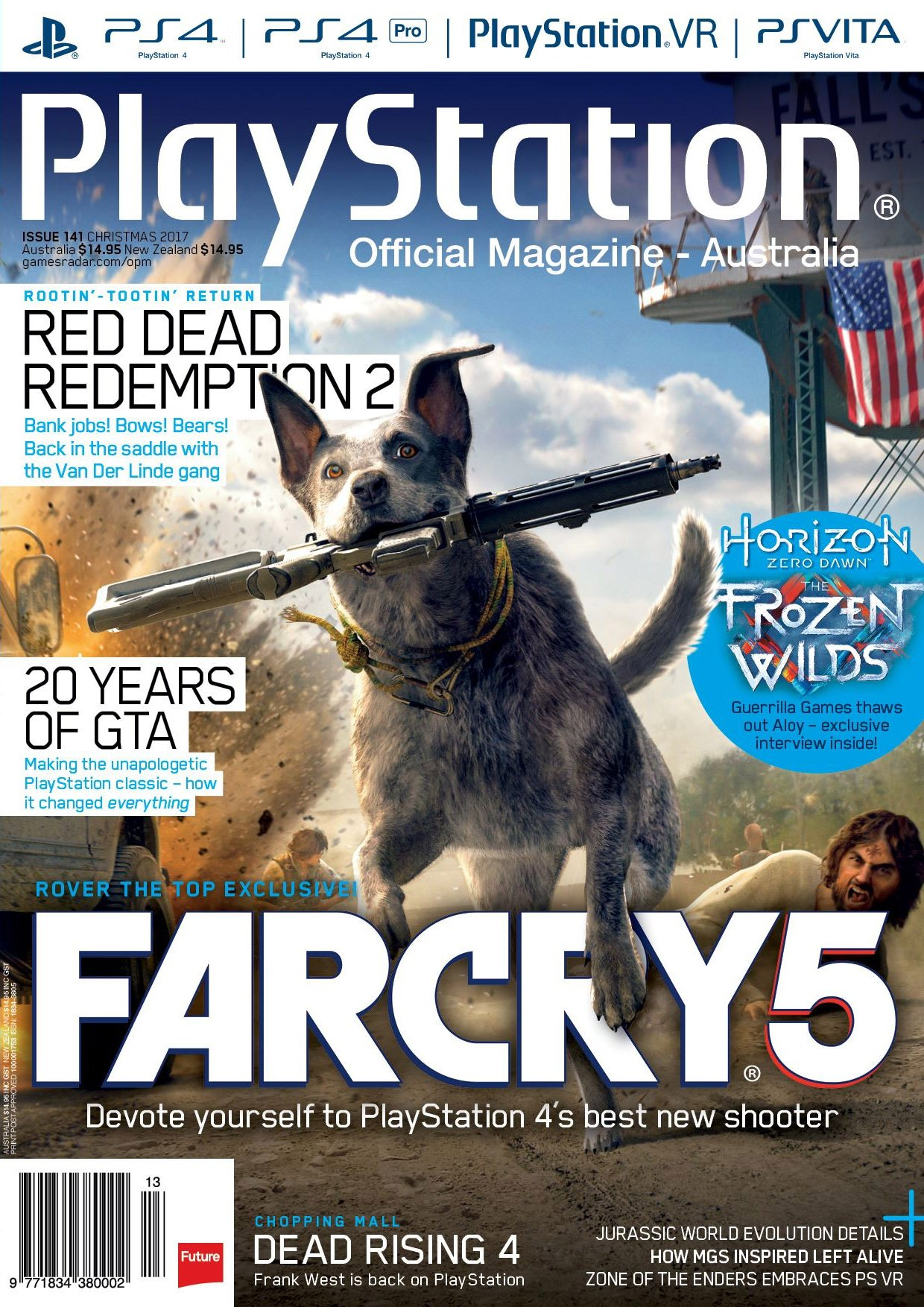 PlayStation Official Magazine Issue 141 (Christmas 2017)