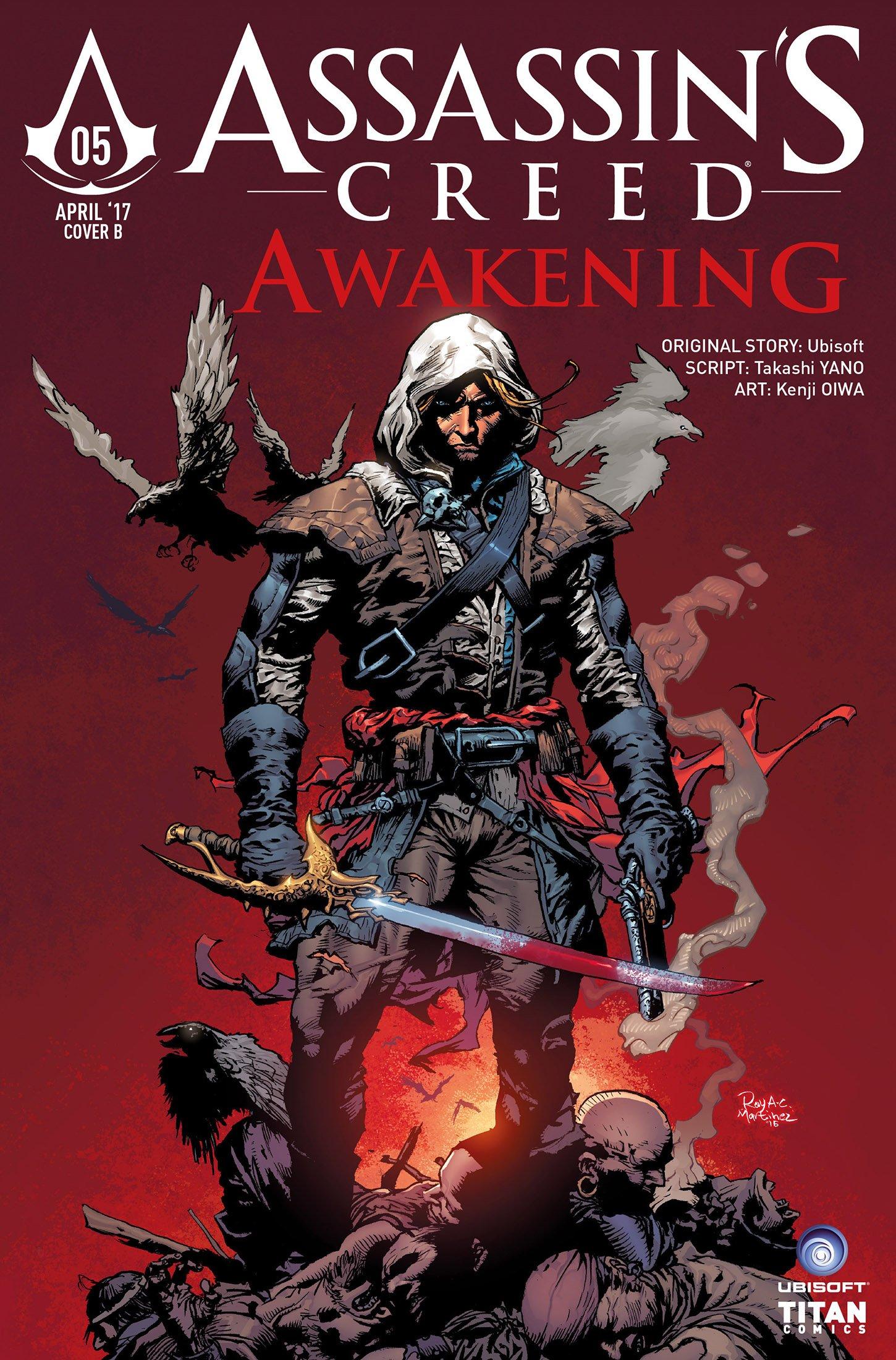 Assassin's Creed - Awakening 05 (April 2017) (cover b)