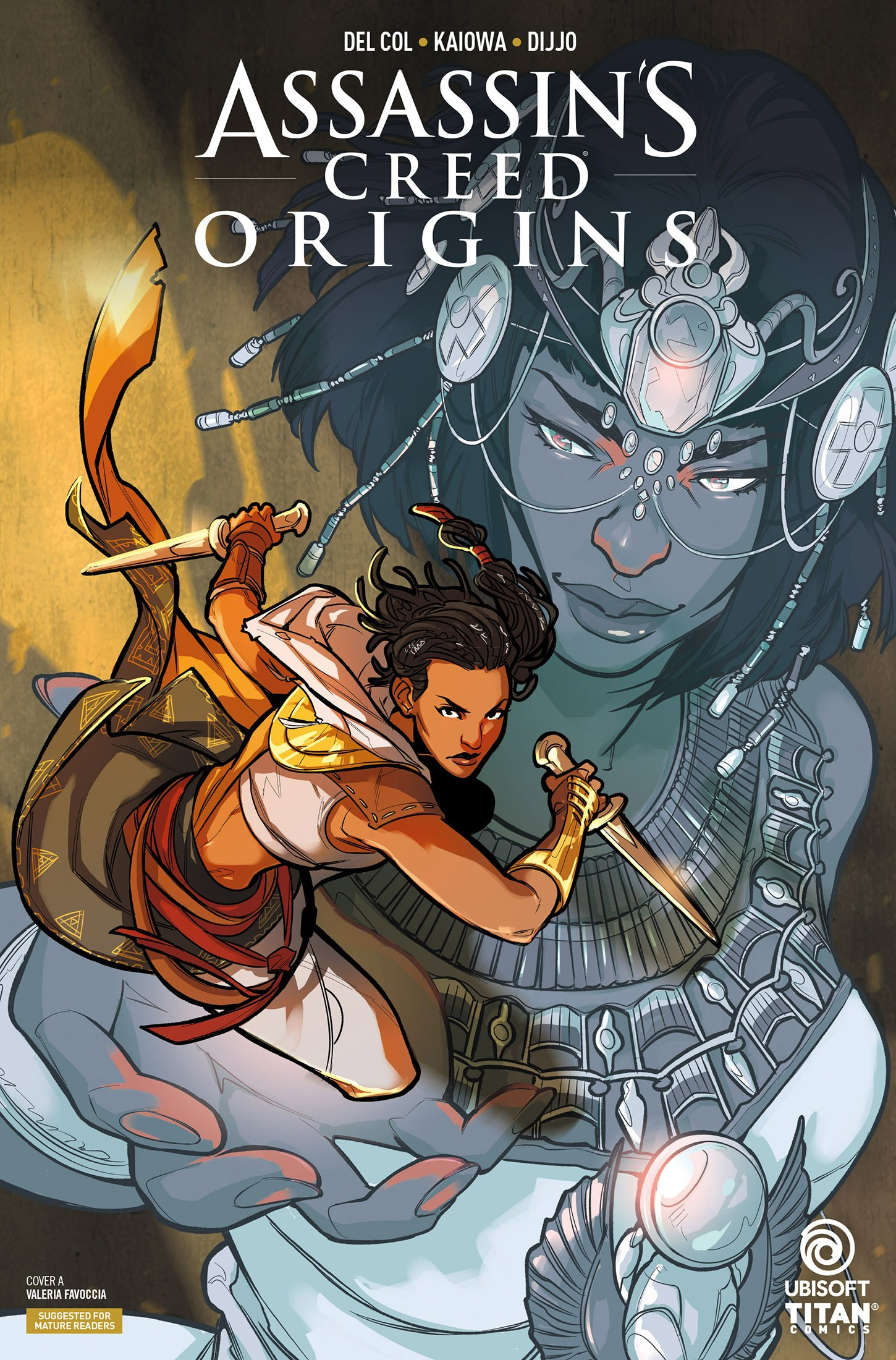 Assassin's Creed - Origins 04 (July 2018) (cover a)
