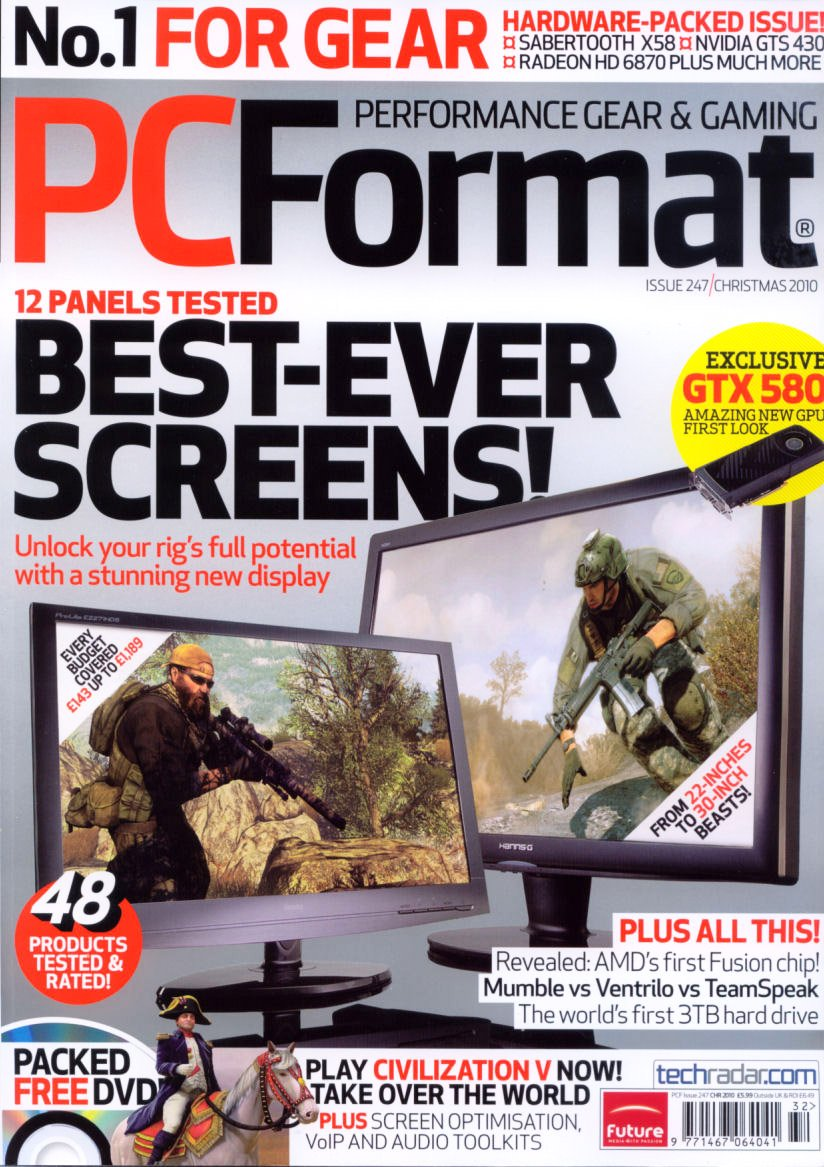 PC Format Issue 247 (Christmas 2010)