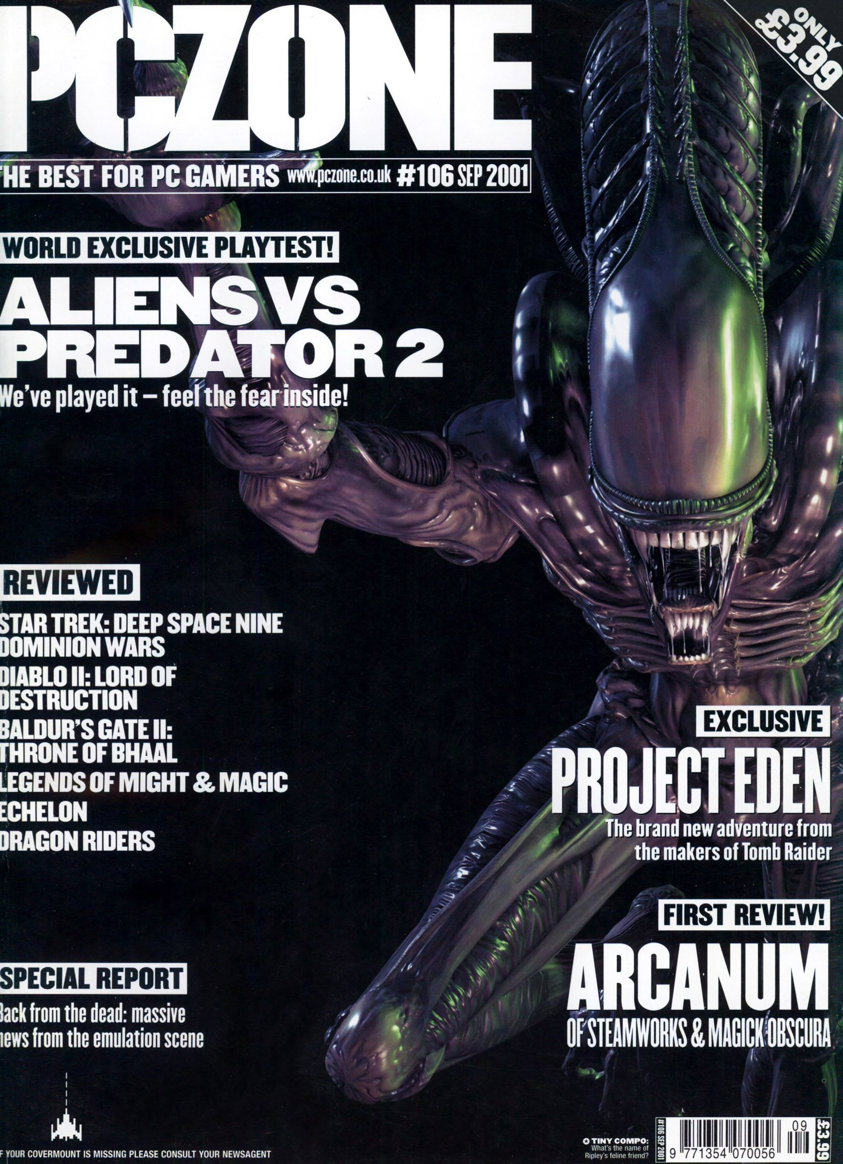 PC Zone Issue 106 (September 2001)